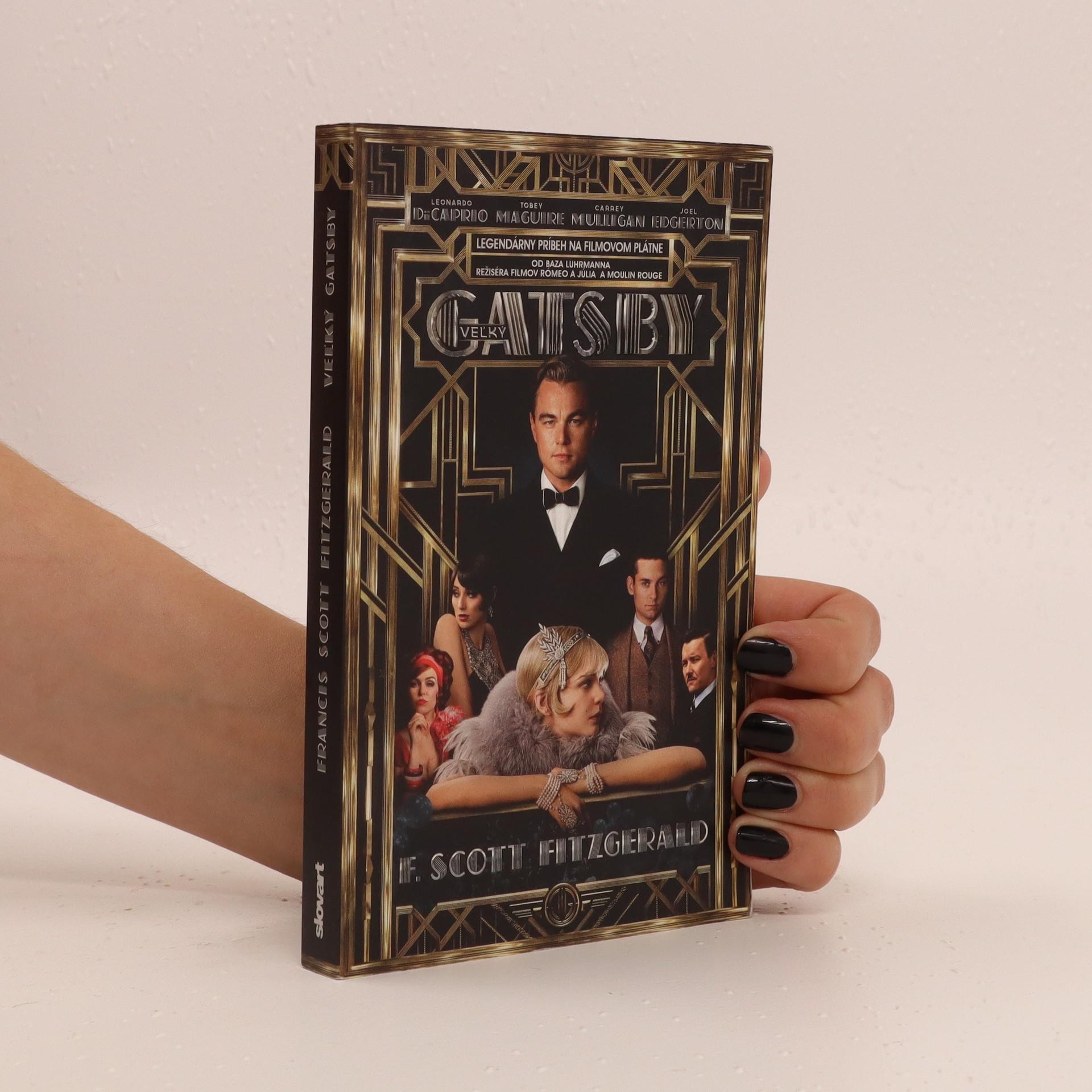 antikvární kniha  Veľký Gatsby (slovensky), 2012