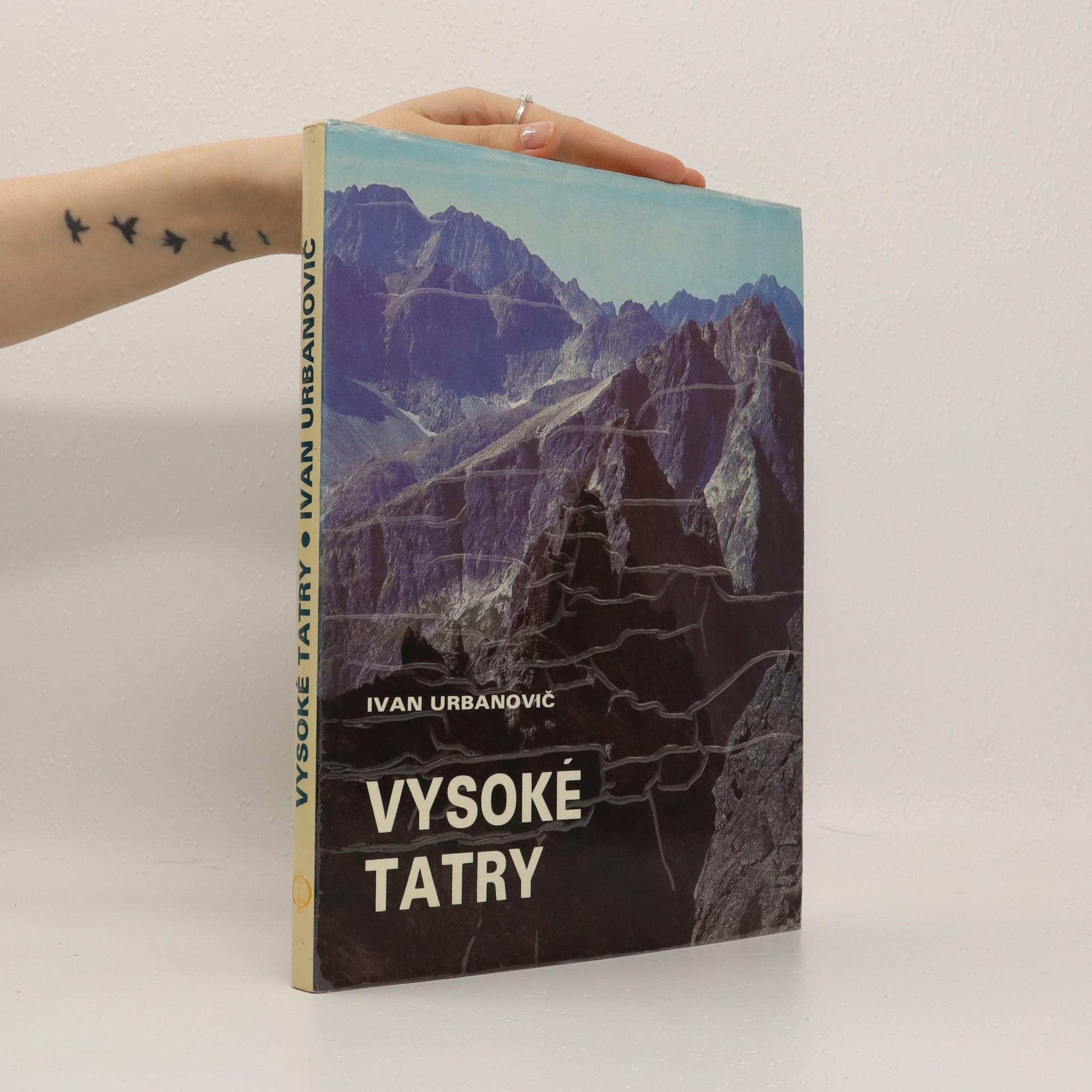 antikvární kniha Vysoké Tatry, 1981