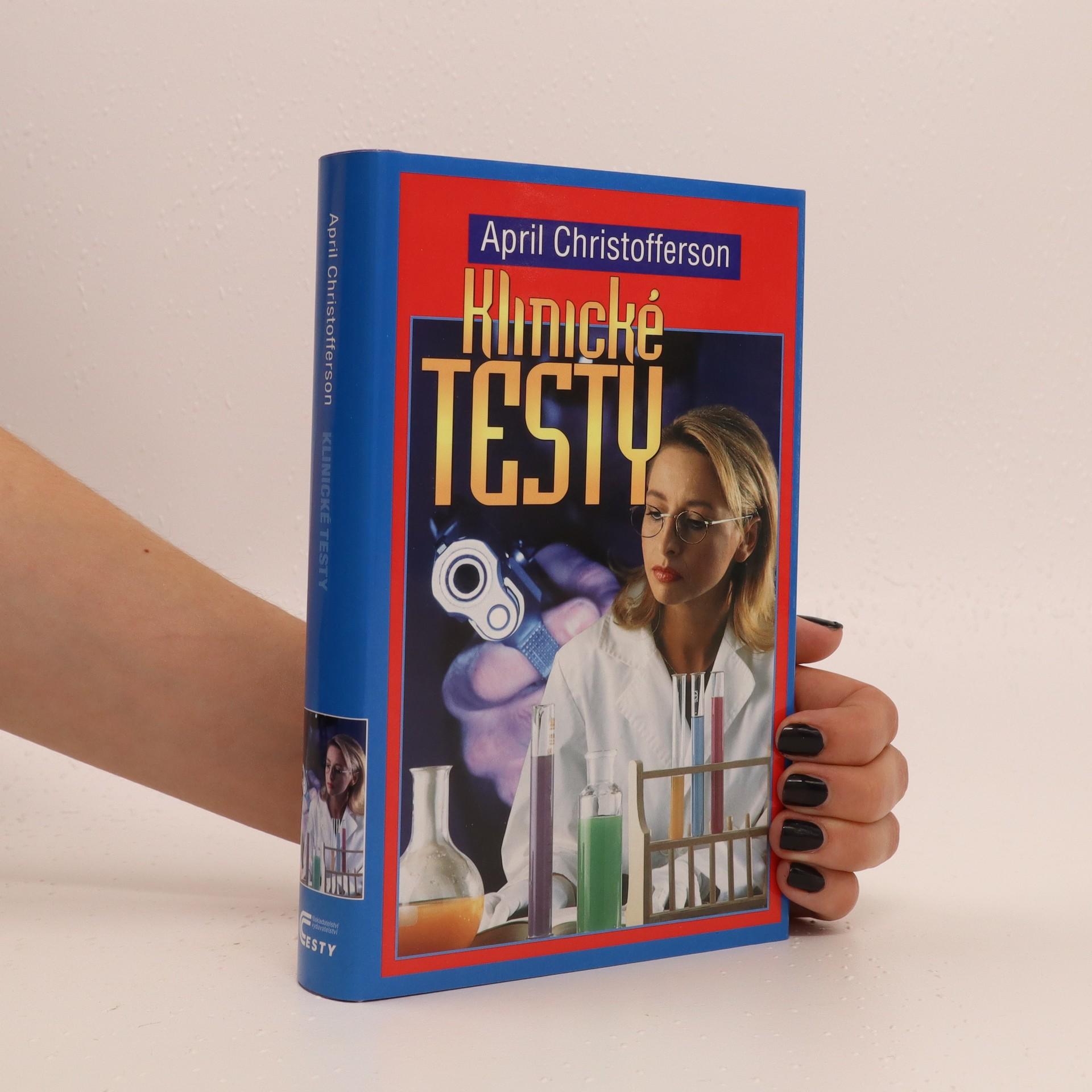 antikvární kniha Klinické testy, 2004