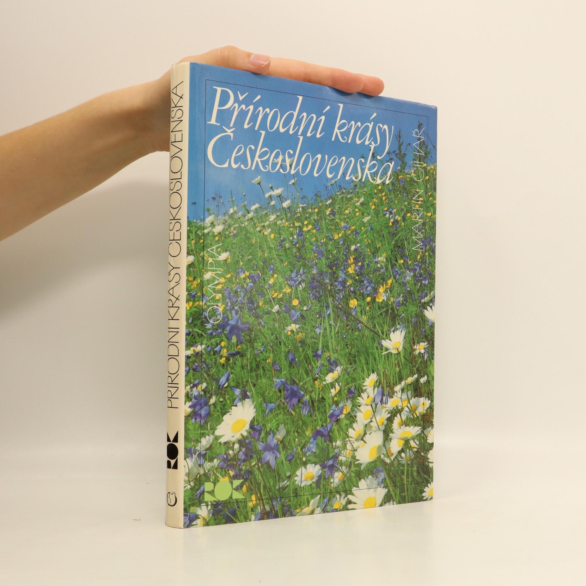 antikvární kniha Přírodní krásy Československa, 1989