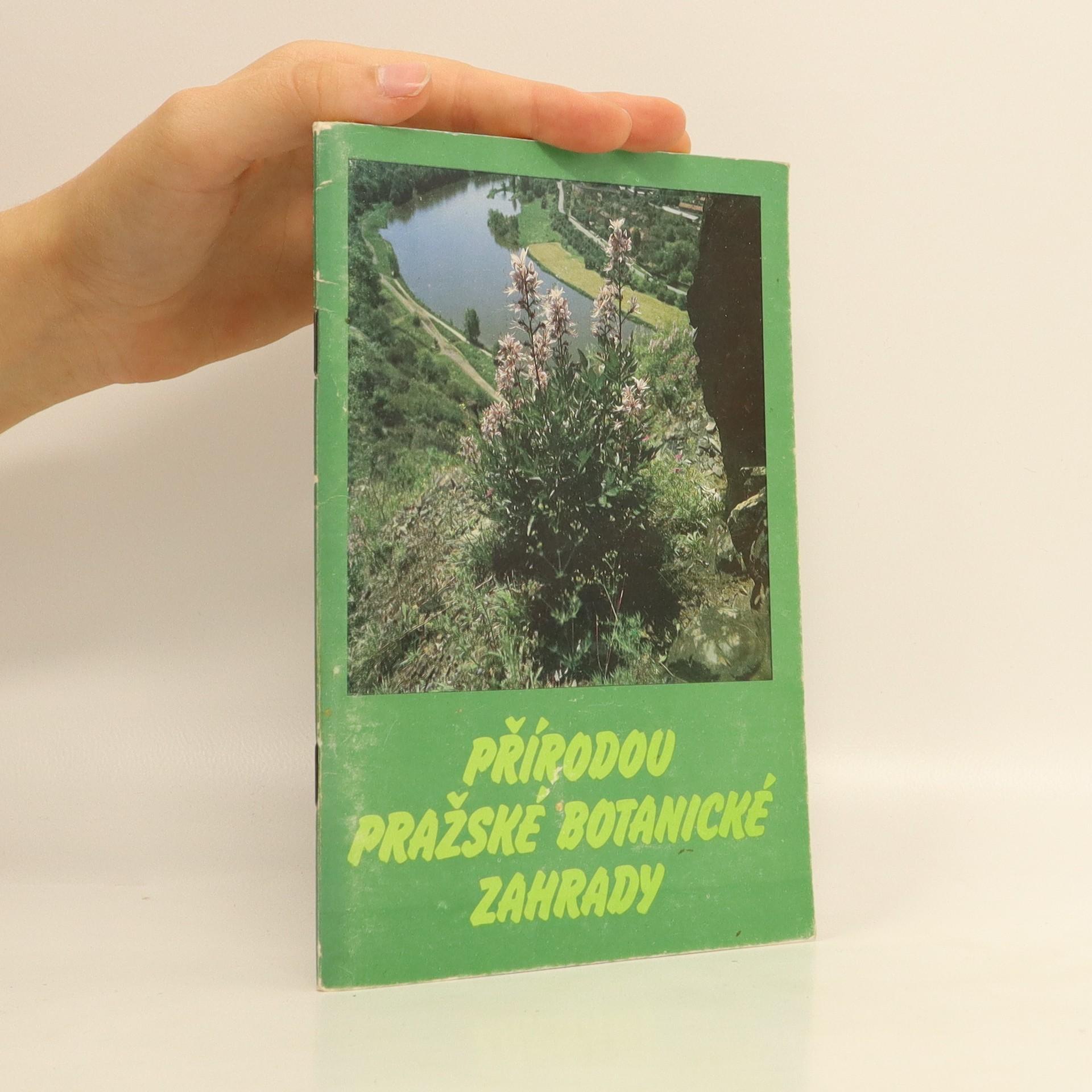 antikvární kniha Přírodou Pražské botanické zahrady, 1989