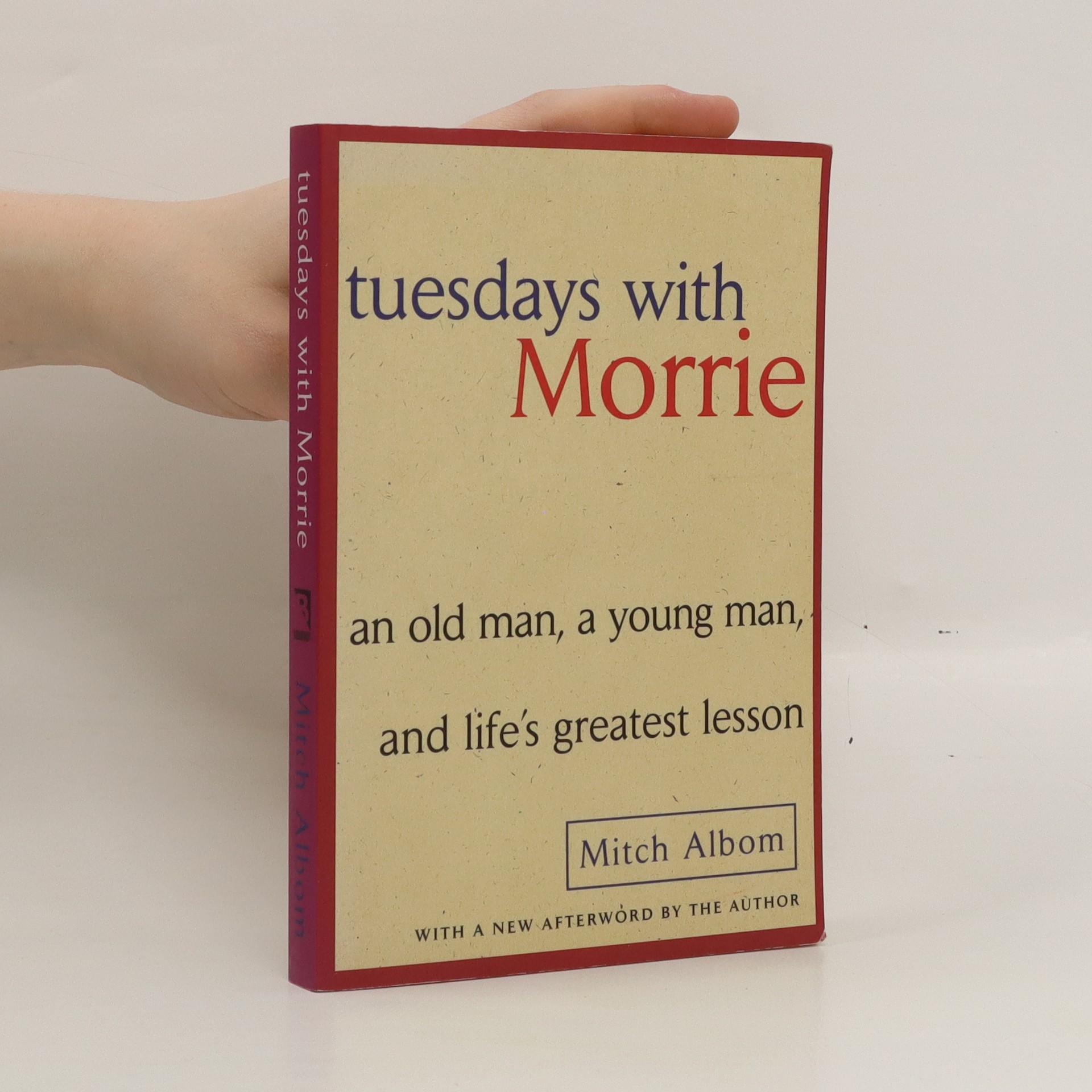 antikvární kniha Tuesdays with Morrie, 1997