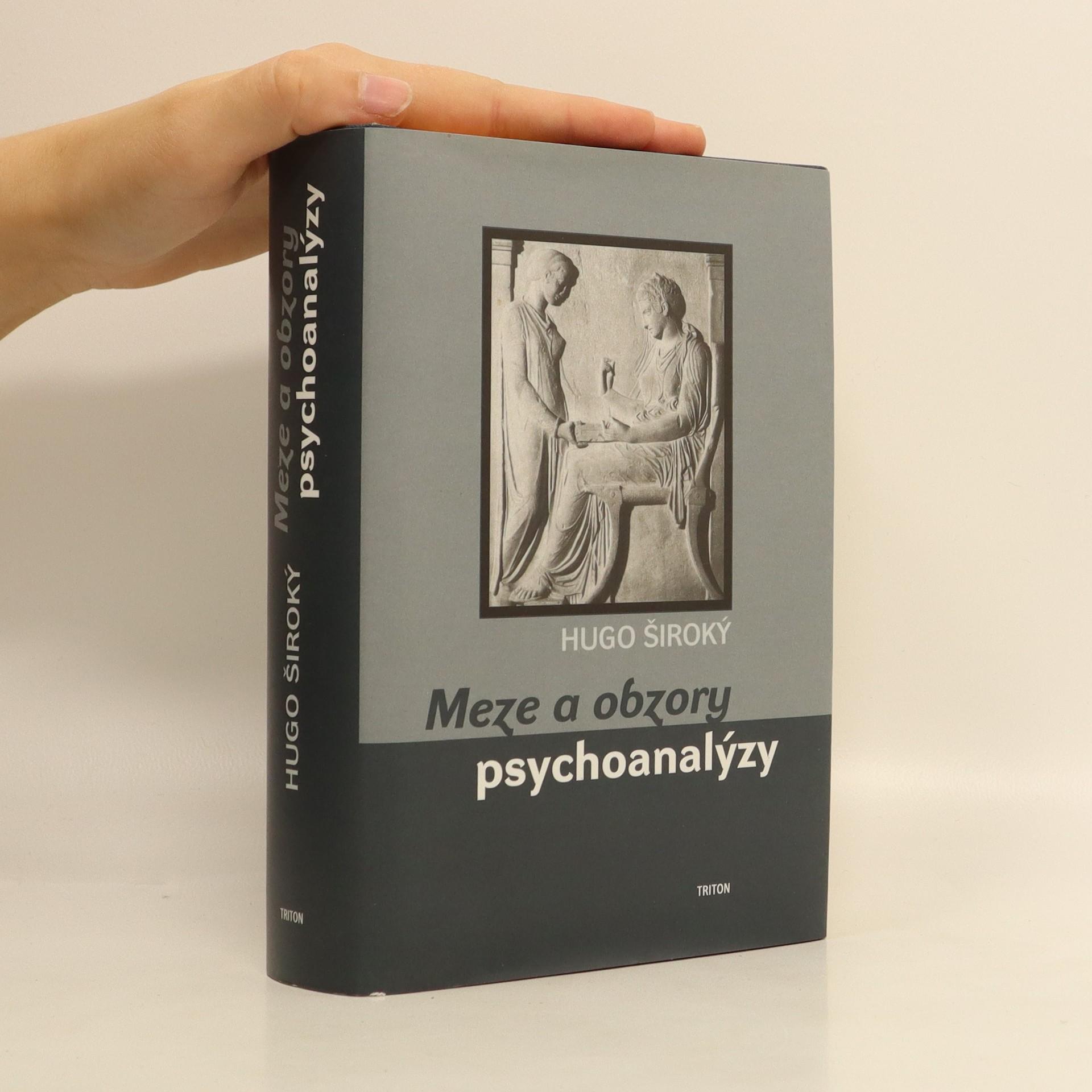 antikvární kniha Meze a obzory psychoanalýzy, 2001