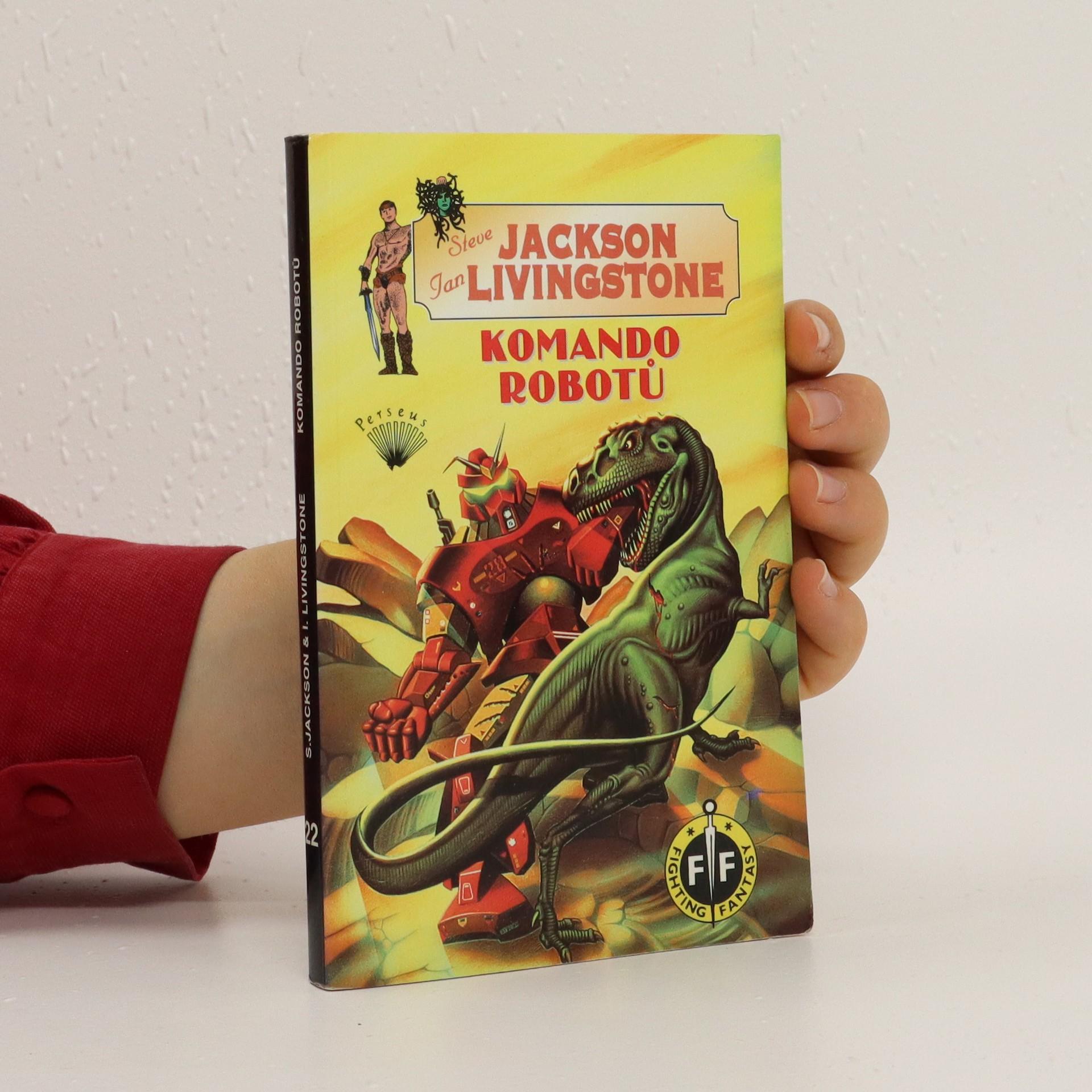 antikvární kniha Komando robotů, 1998