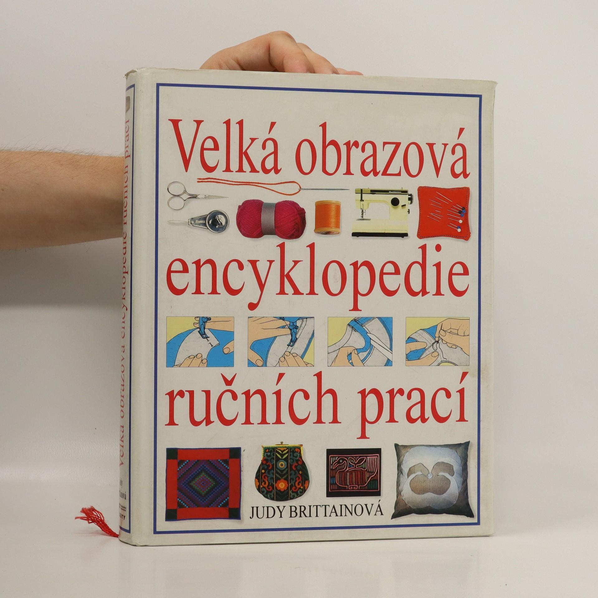 antikvární kniha Velká obrazová encyklopedie ručních prací, 1996