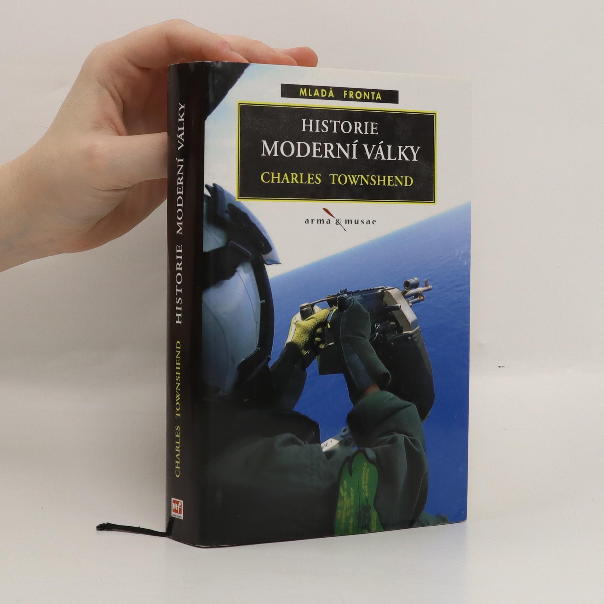antikvární kniha Historie moderní války, 2007