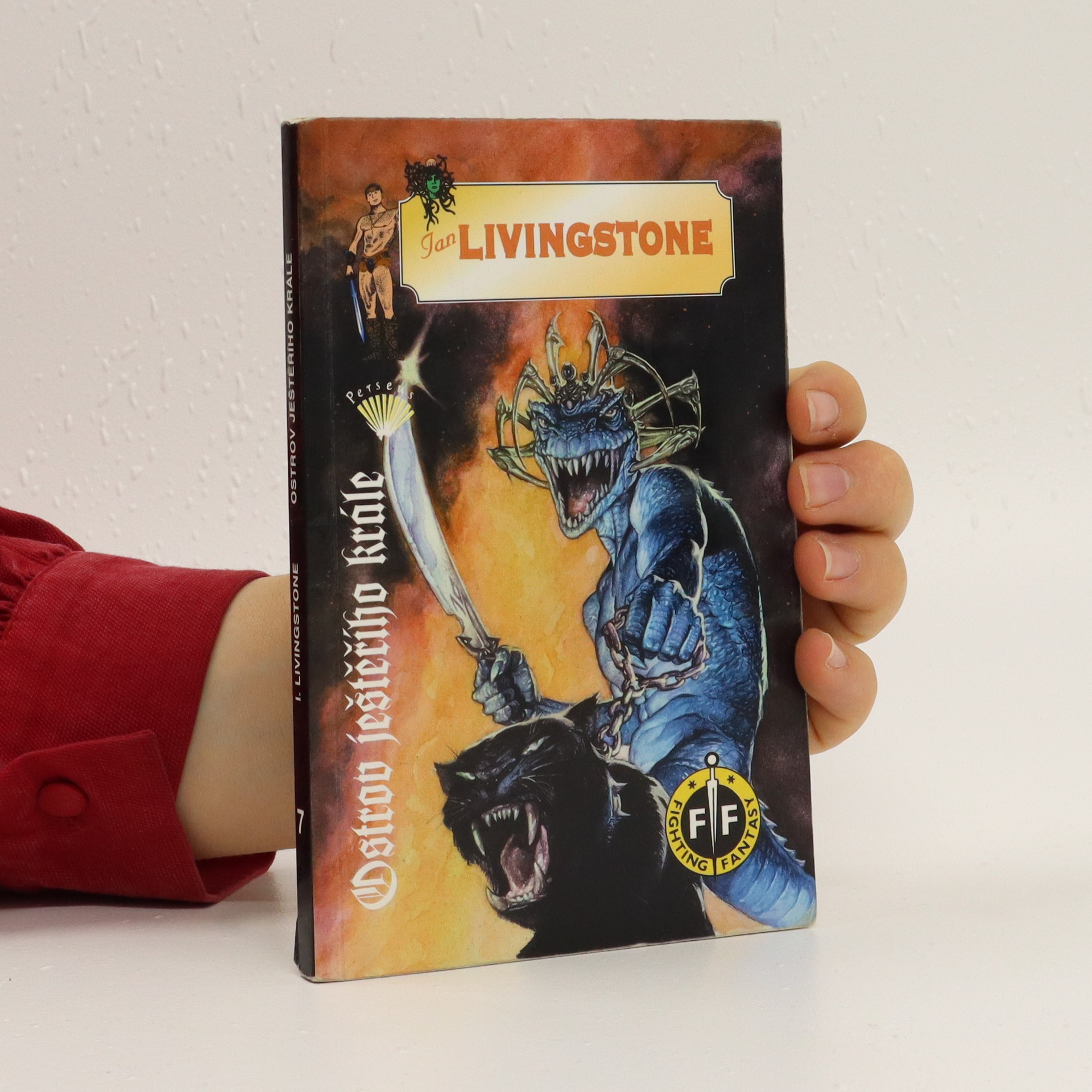 antikvární kniha Ostrov Ještěřího krále, 1995