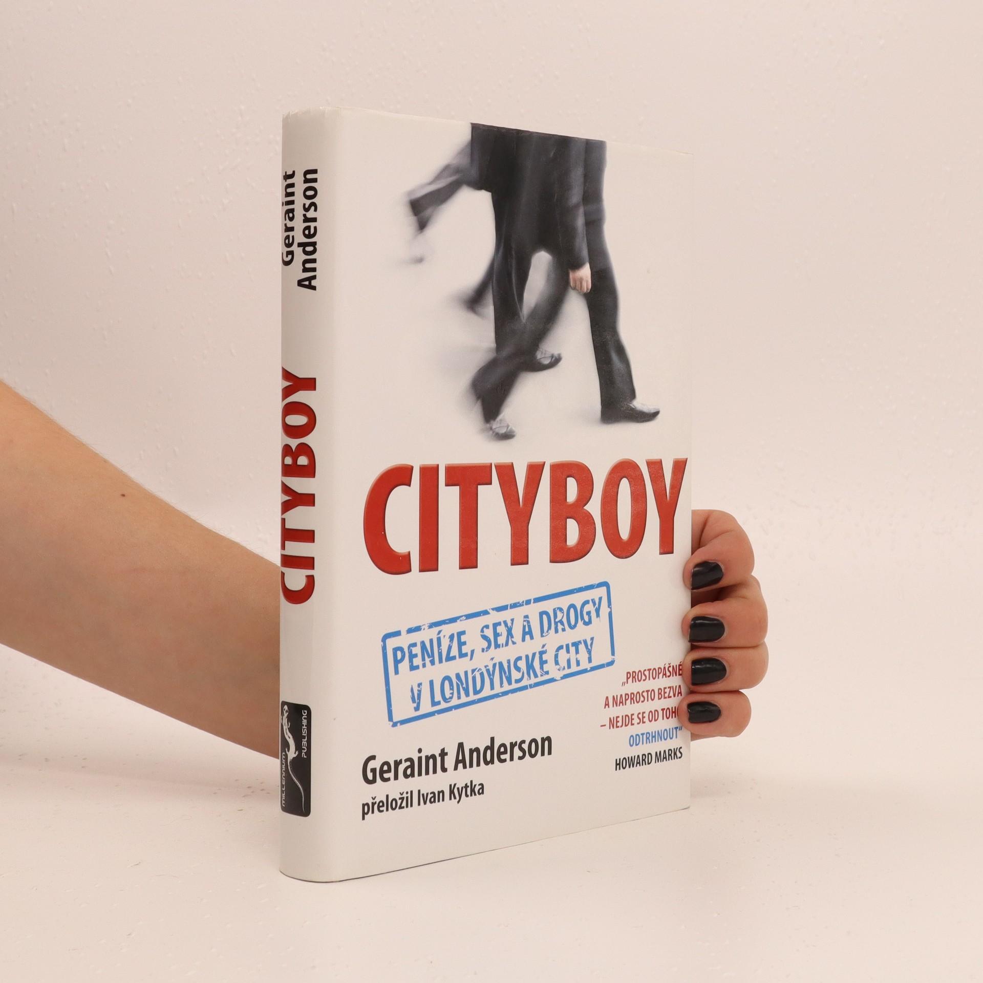 antikvární kniha Cityboy, 2010