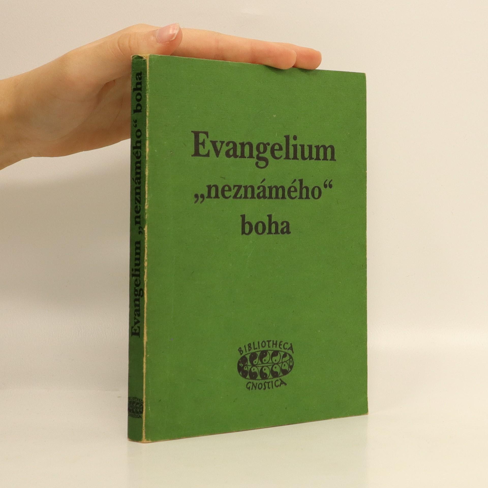 "antikvární kniha  Evangelium ""neznámého"" boha (bez obálky!!!), 1994"