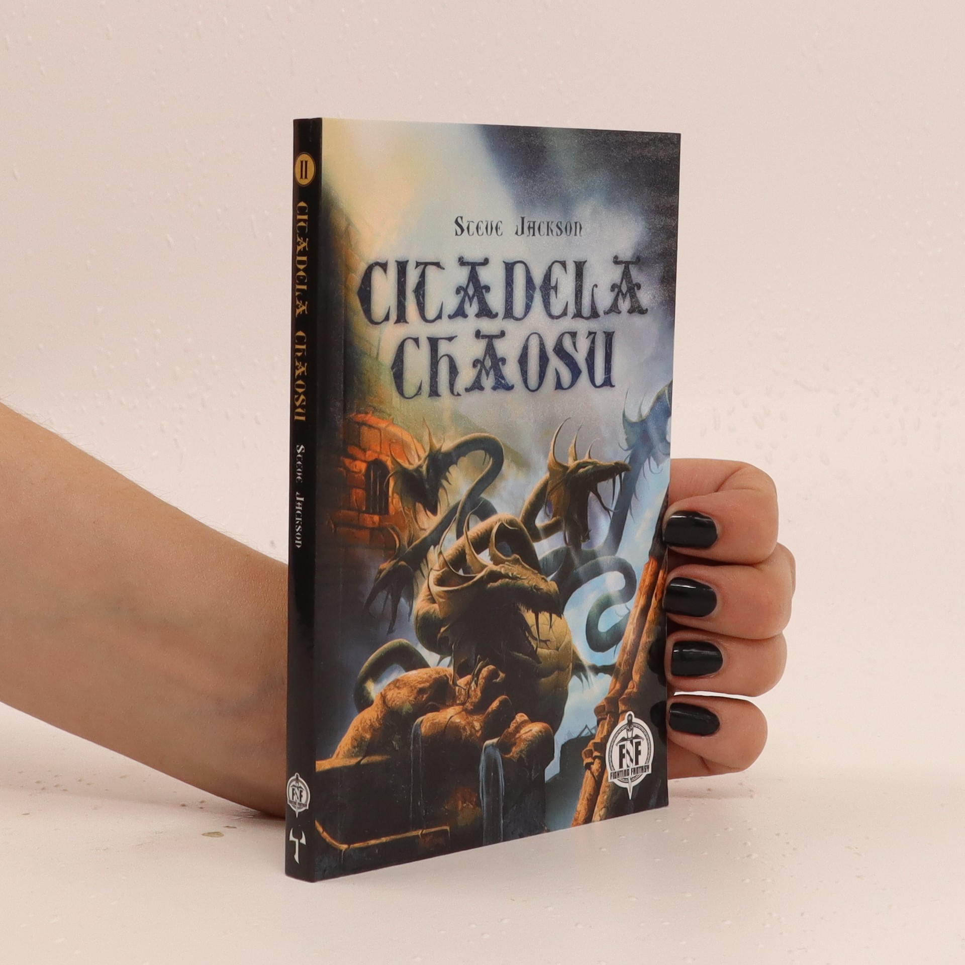 antikvární kniha Citadela chaosu, 2016