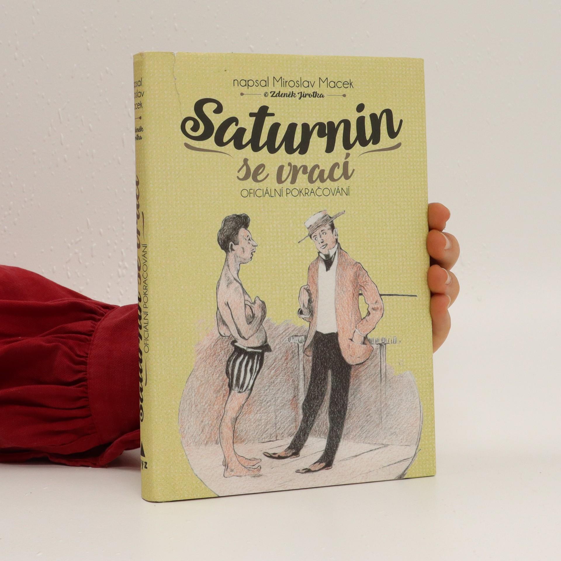 antikvární kniha Saturnin se vrací, 2017