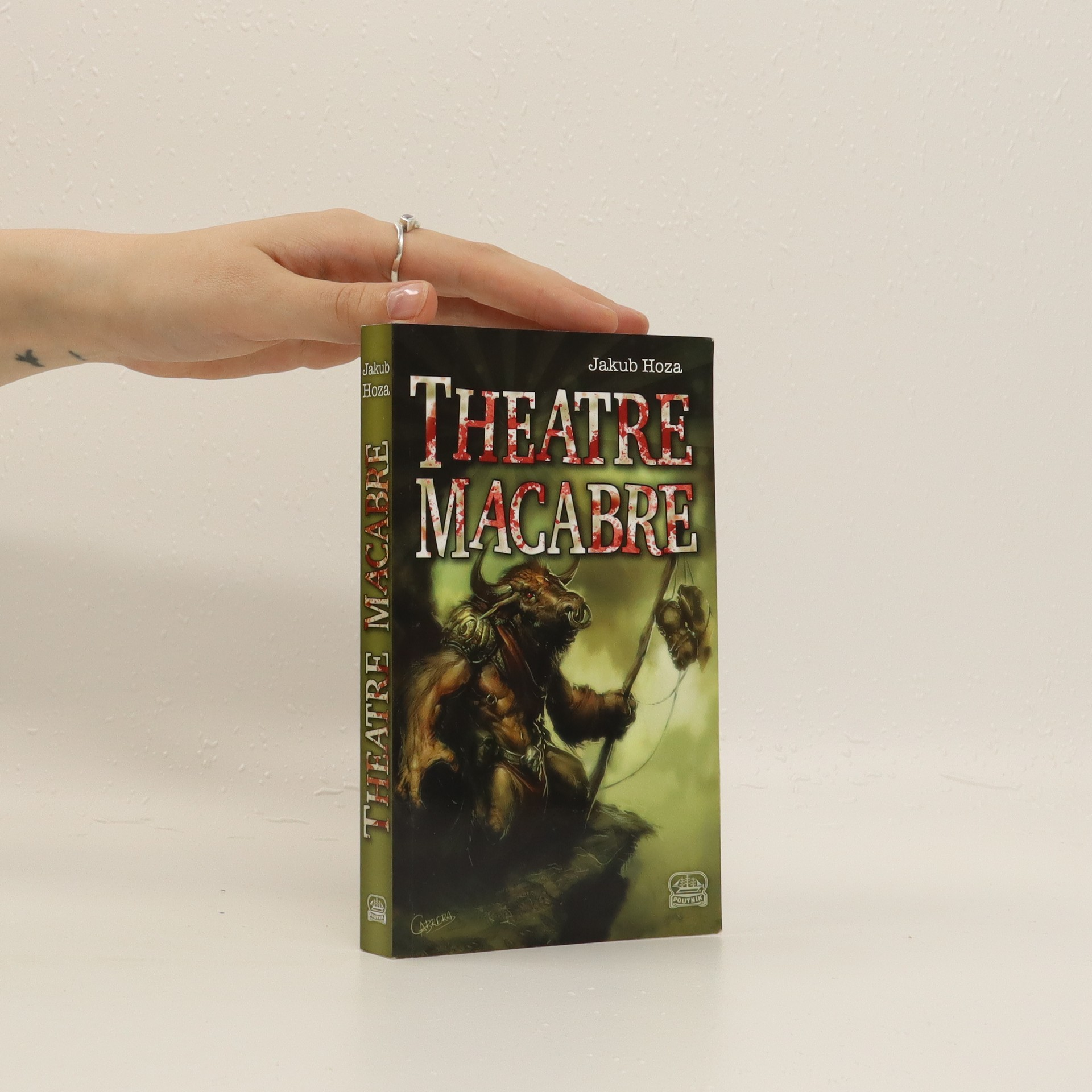 antikvární kniha Theatre Macabre, 2014