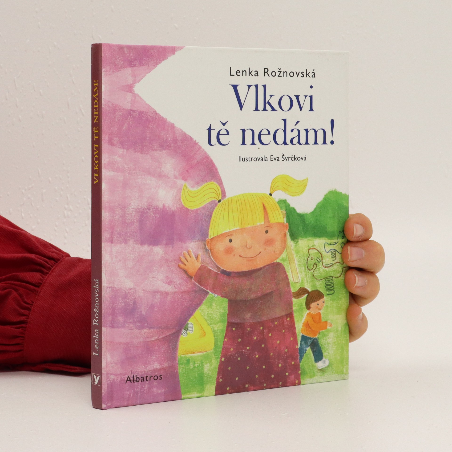 antikvární kniha Vlkovi tě nedám!, 2016