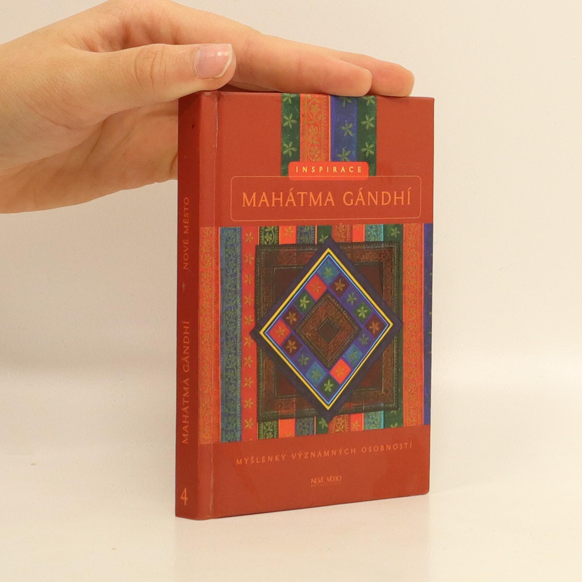 antikvární kniha Mahátma Gándhí, 2002