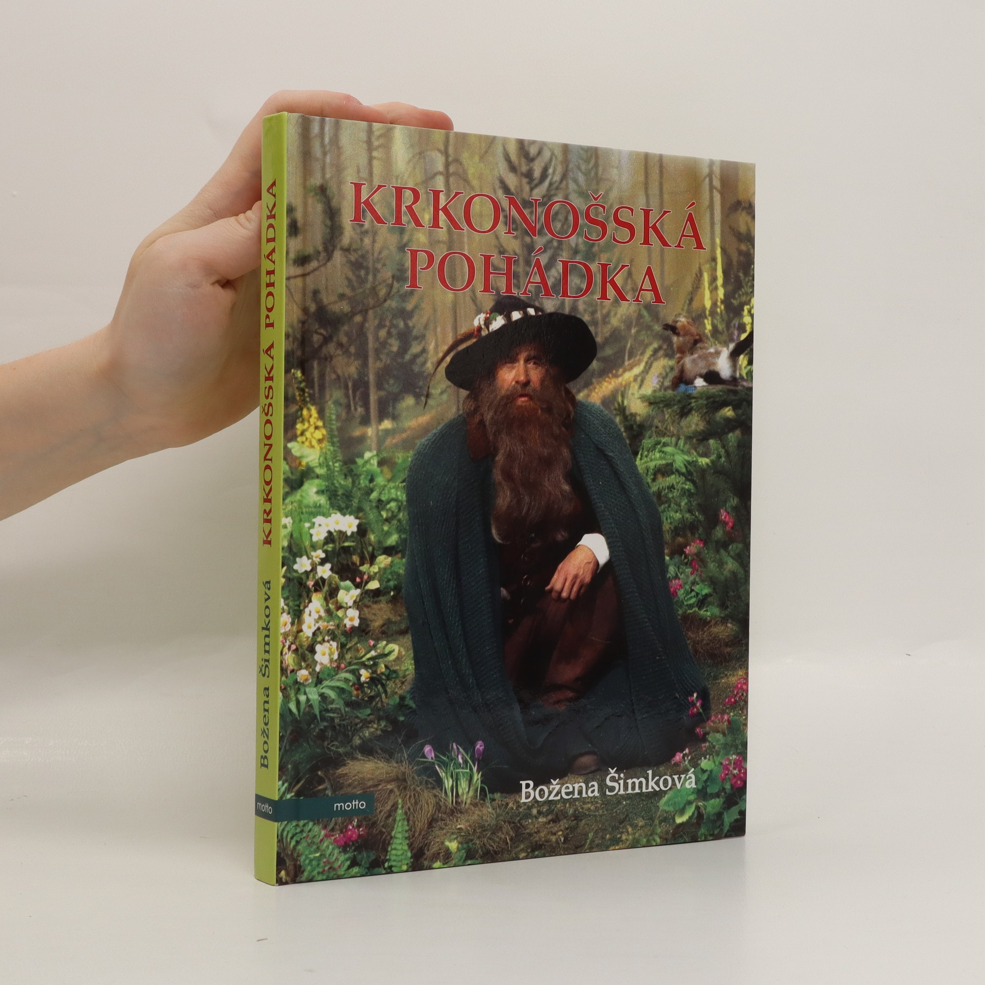 antikvární kniha Krkonošská pohádka, 2011