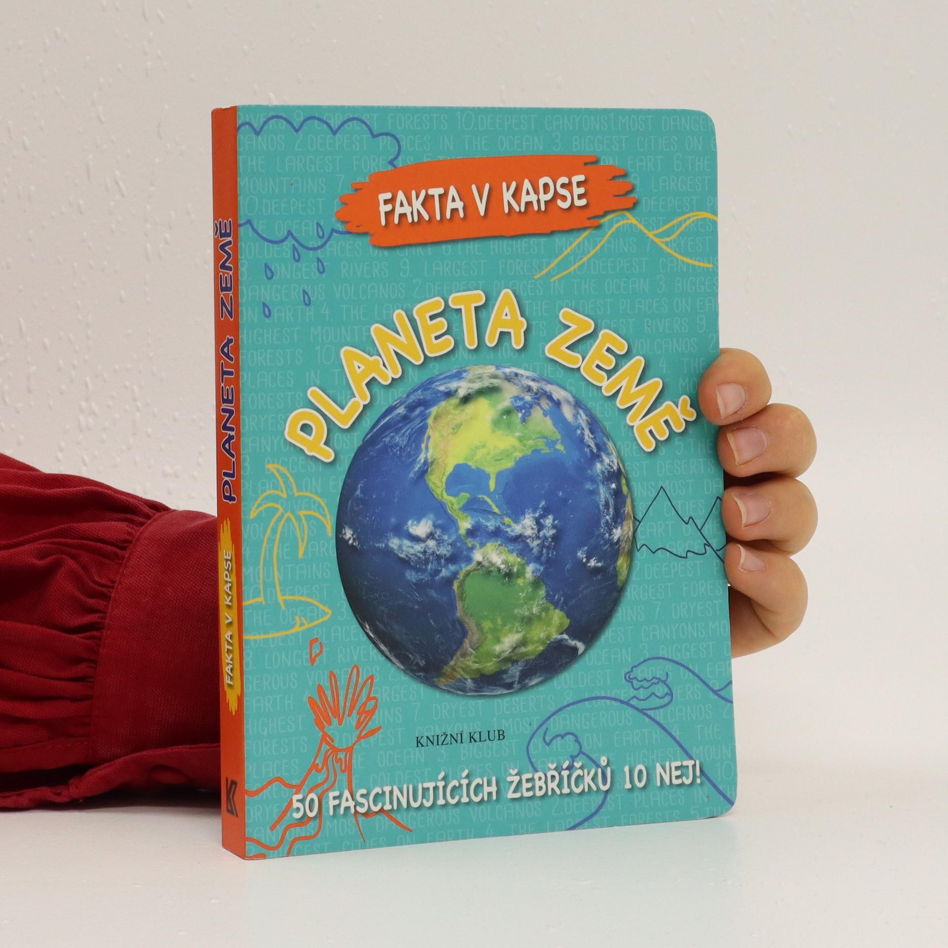 antikvární kniha Planeta země, 2016