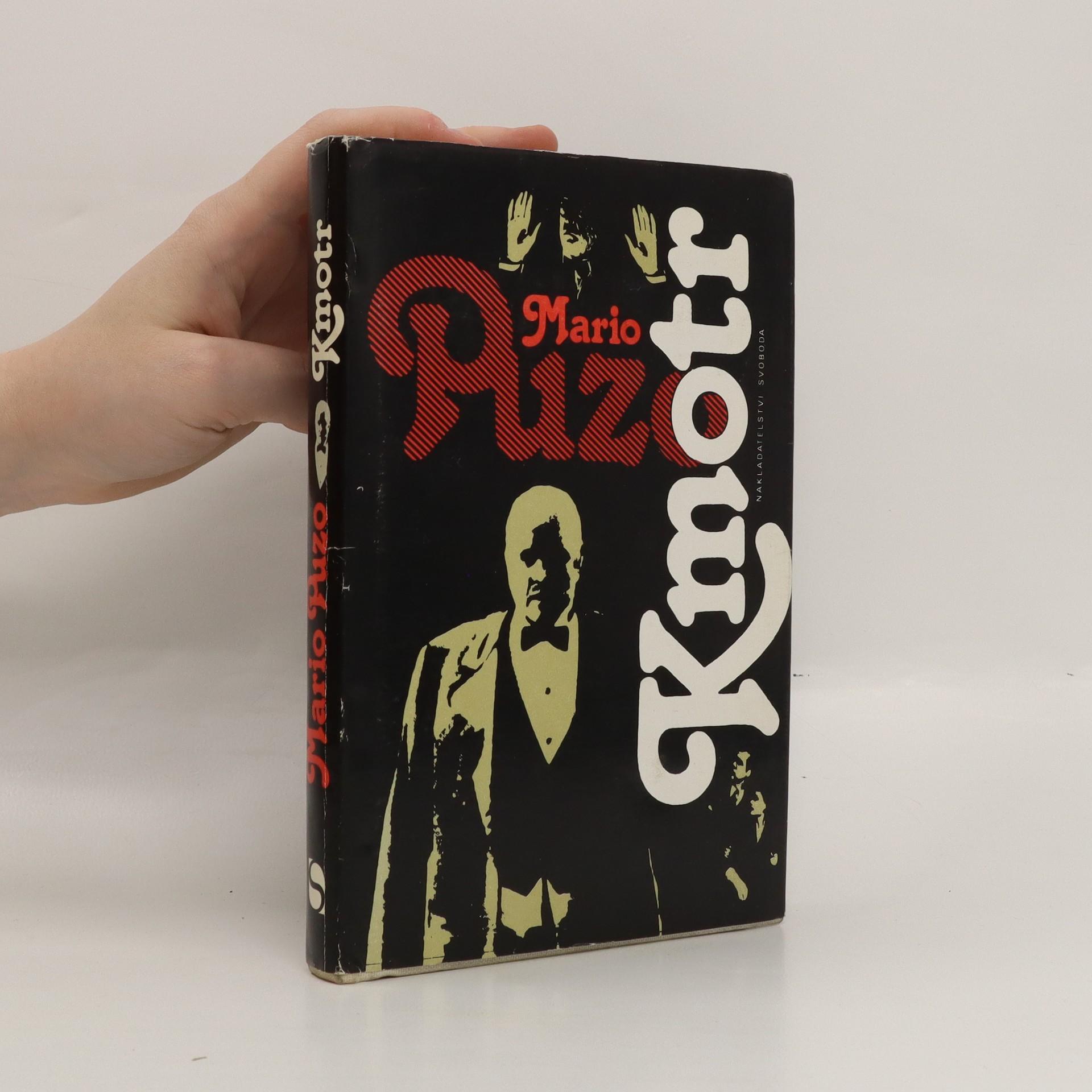 antikvární kniha Kmotr, 1991