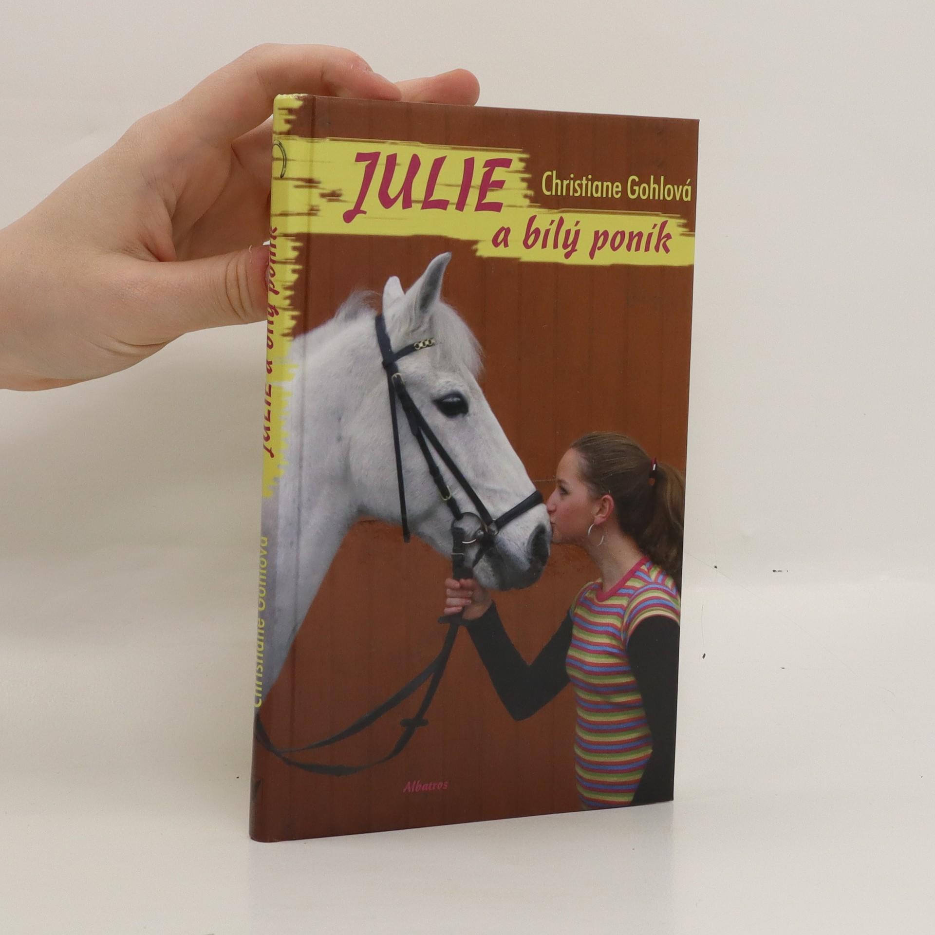 antikvární kniha Julie a bílý poník, 2009
