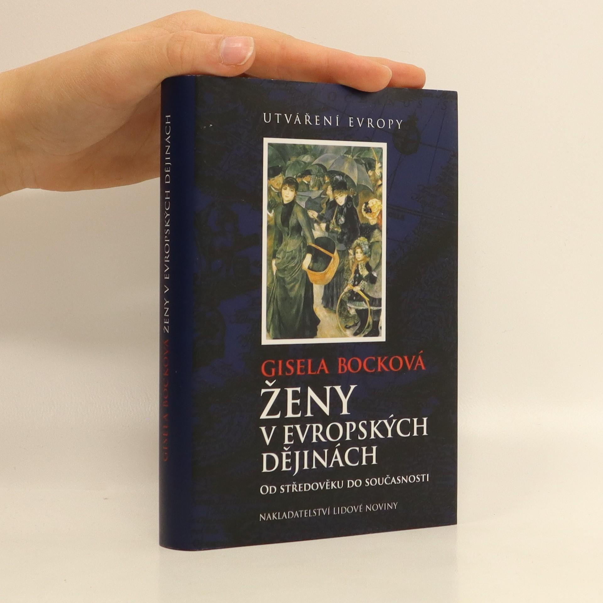 antikvární kniha Ženy v evropských dějinách : od středověku do současnosti, 2007