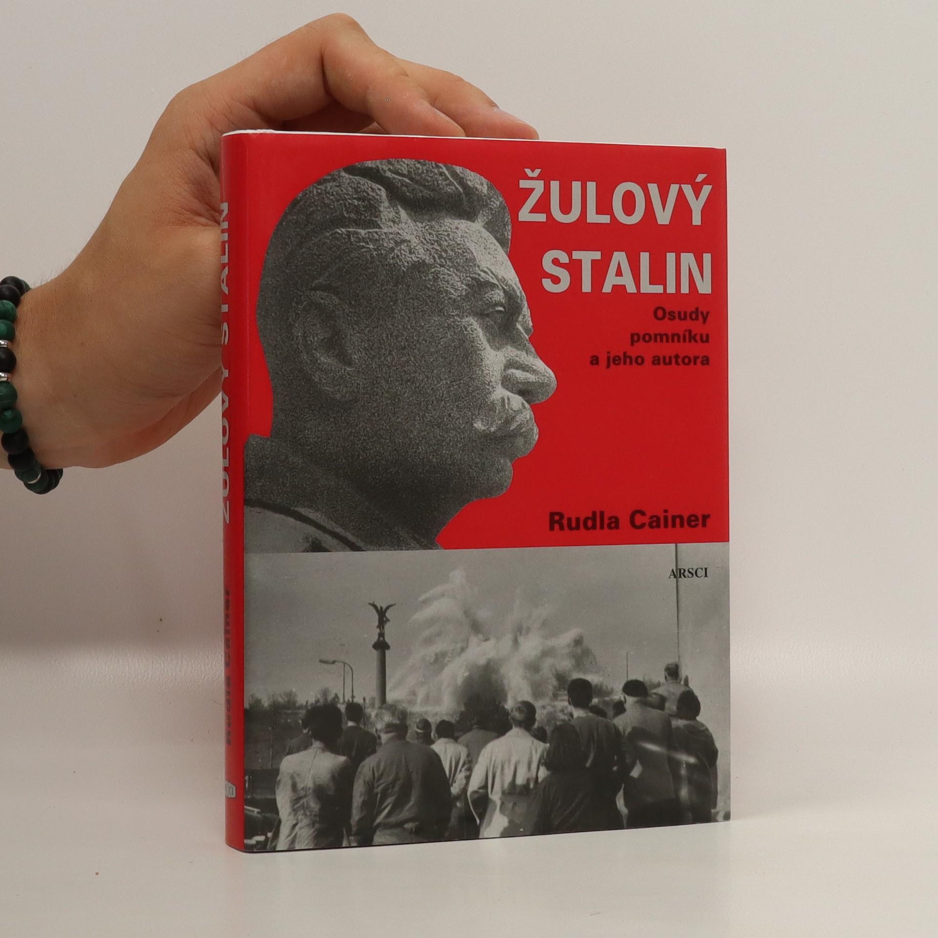 antikvární kniha Žulový Stalin : osudy pomníku a jeho autora, 2008
