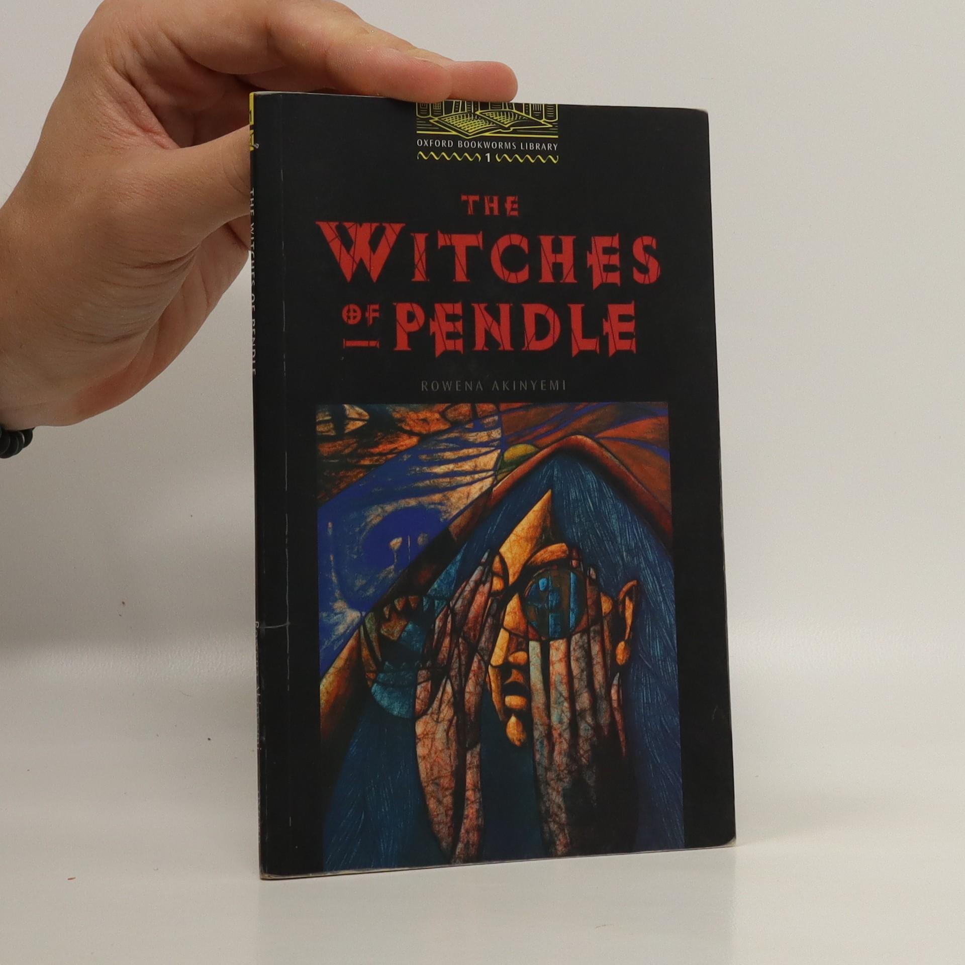 antikvární kniha The witches of Pendle, neuveden