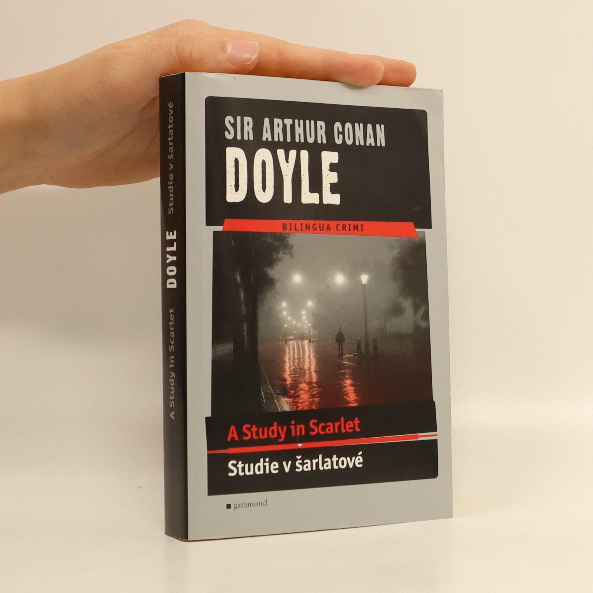 antikvární kniha A study in scarlet: Studie v šarlatové, 2007