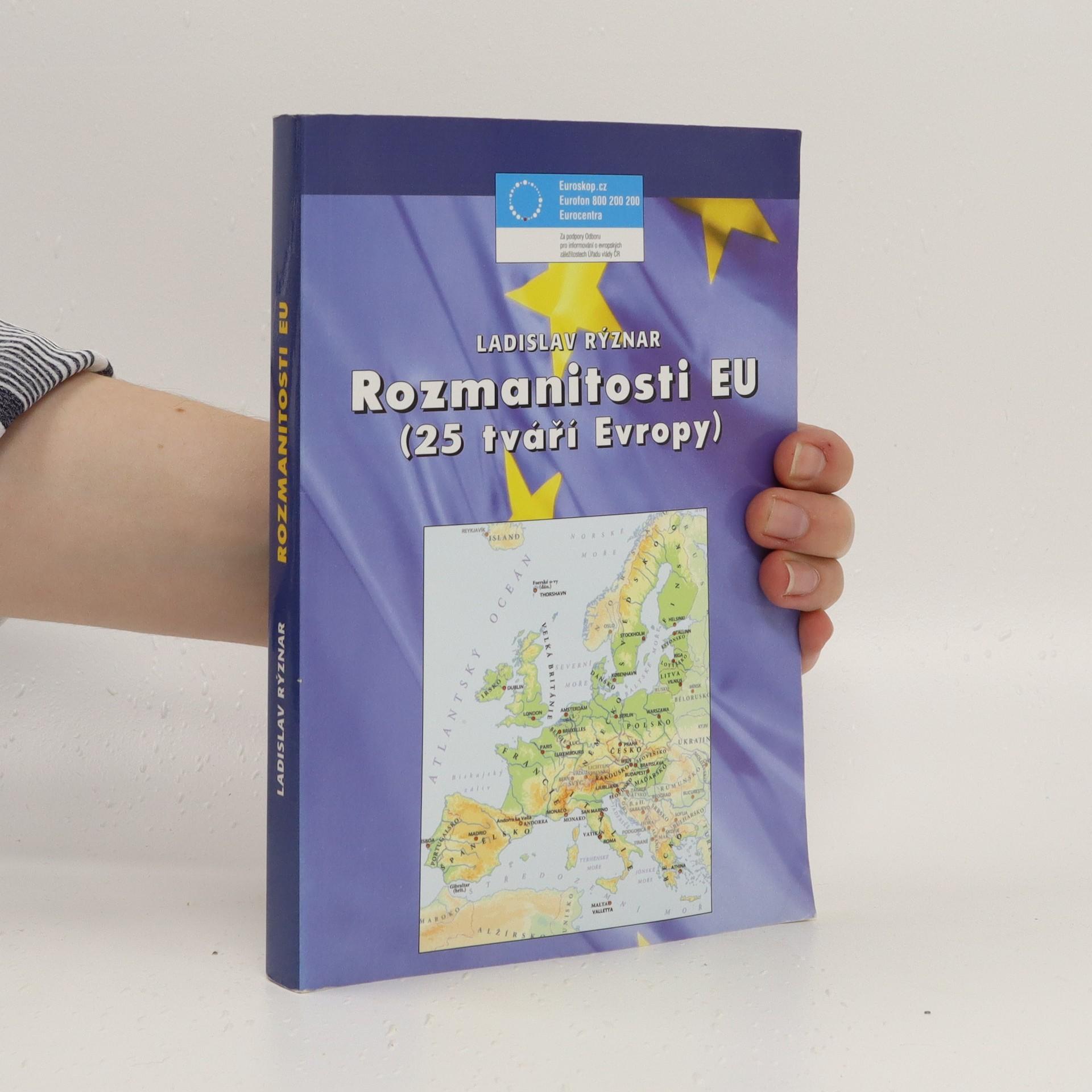 antikvární kniha Rozmanitosti EU: (25 tváří Evropy), 2006