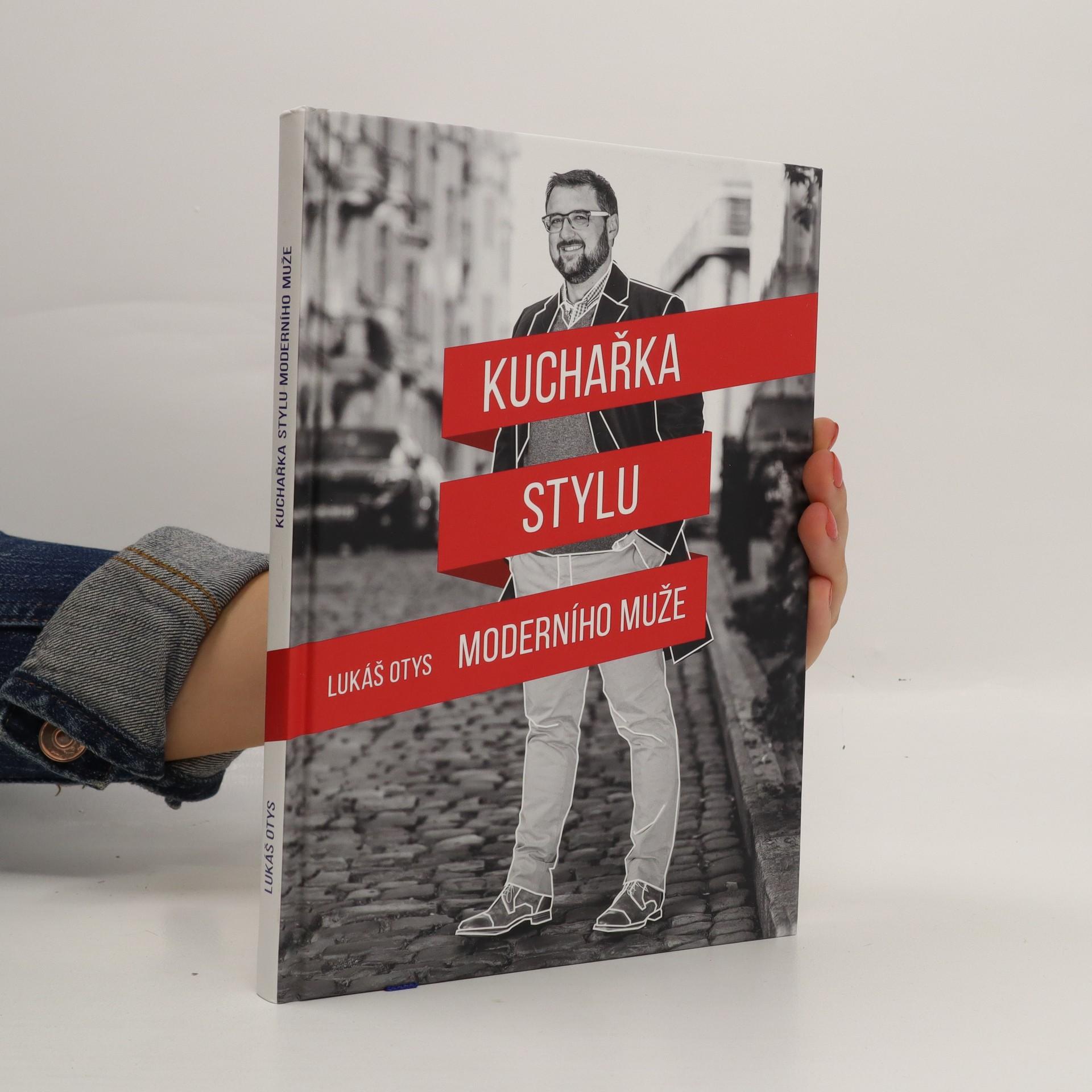 antikvární kniha Kuchařka stylu moderního muže, 2019