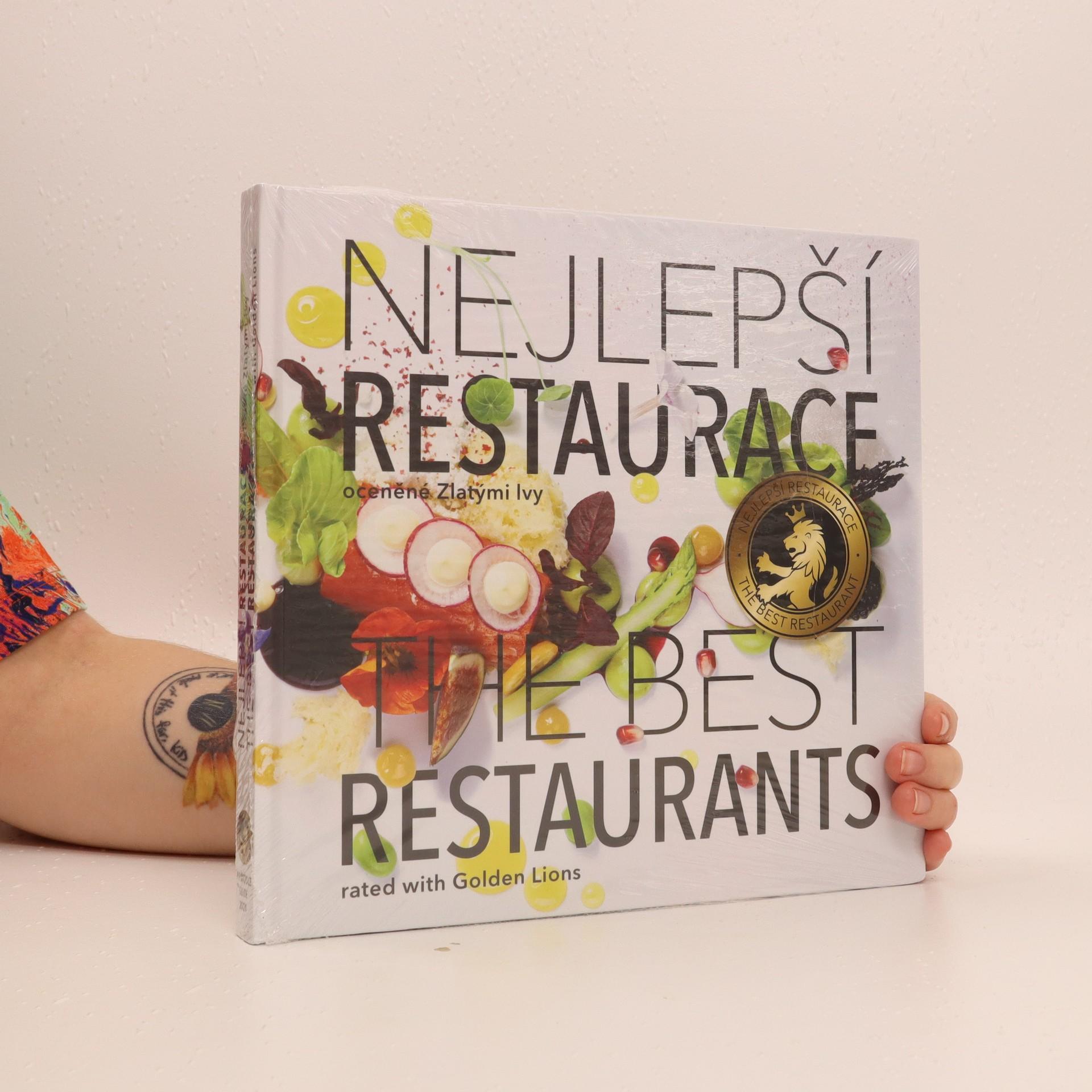 antikvární kniha Nejlepší restaurace oceněné Zlatými lvy, 2020