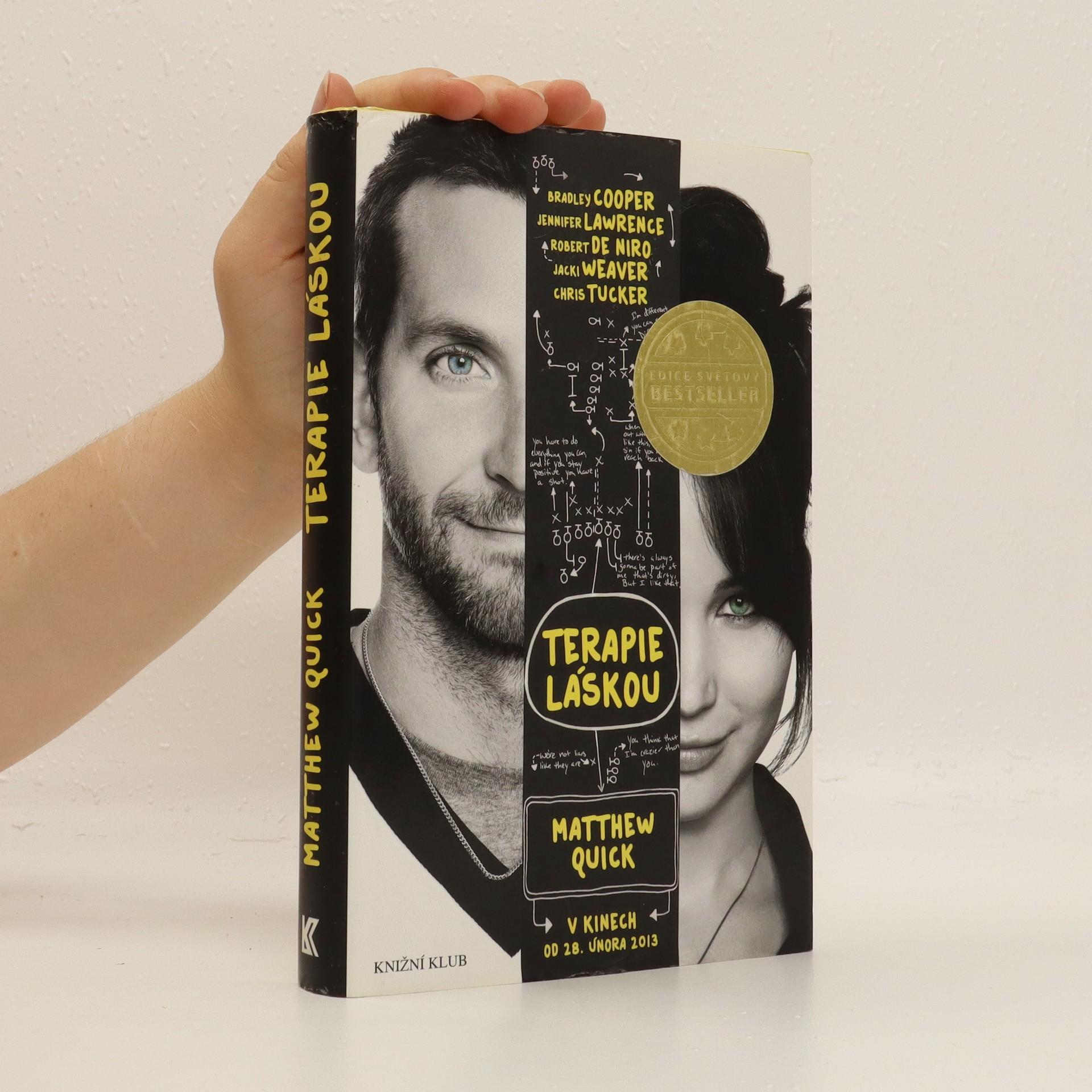 antikvární kniha Terapie láskou, 2013