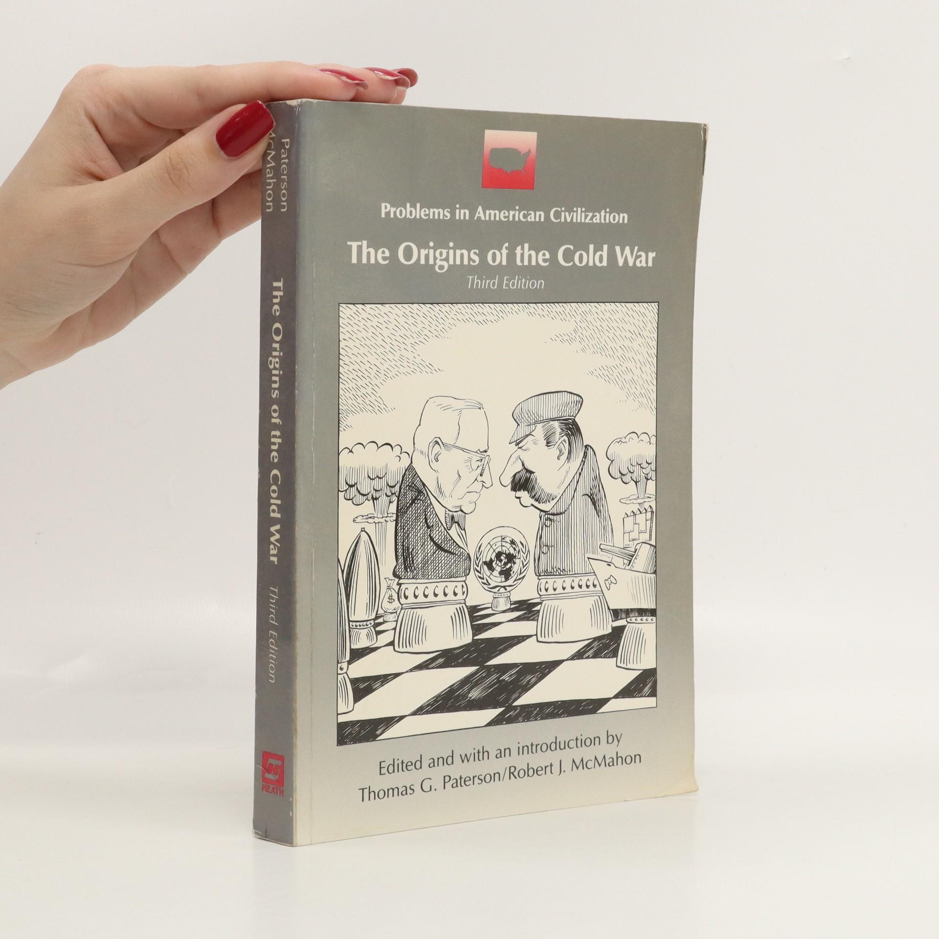 antikvární kniha The origins of the Cold War, 1991