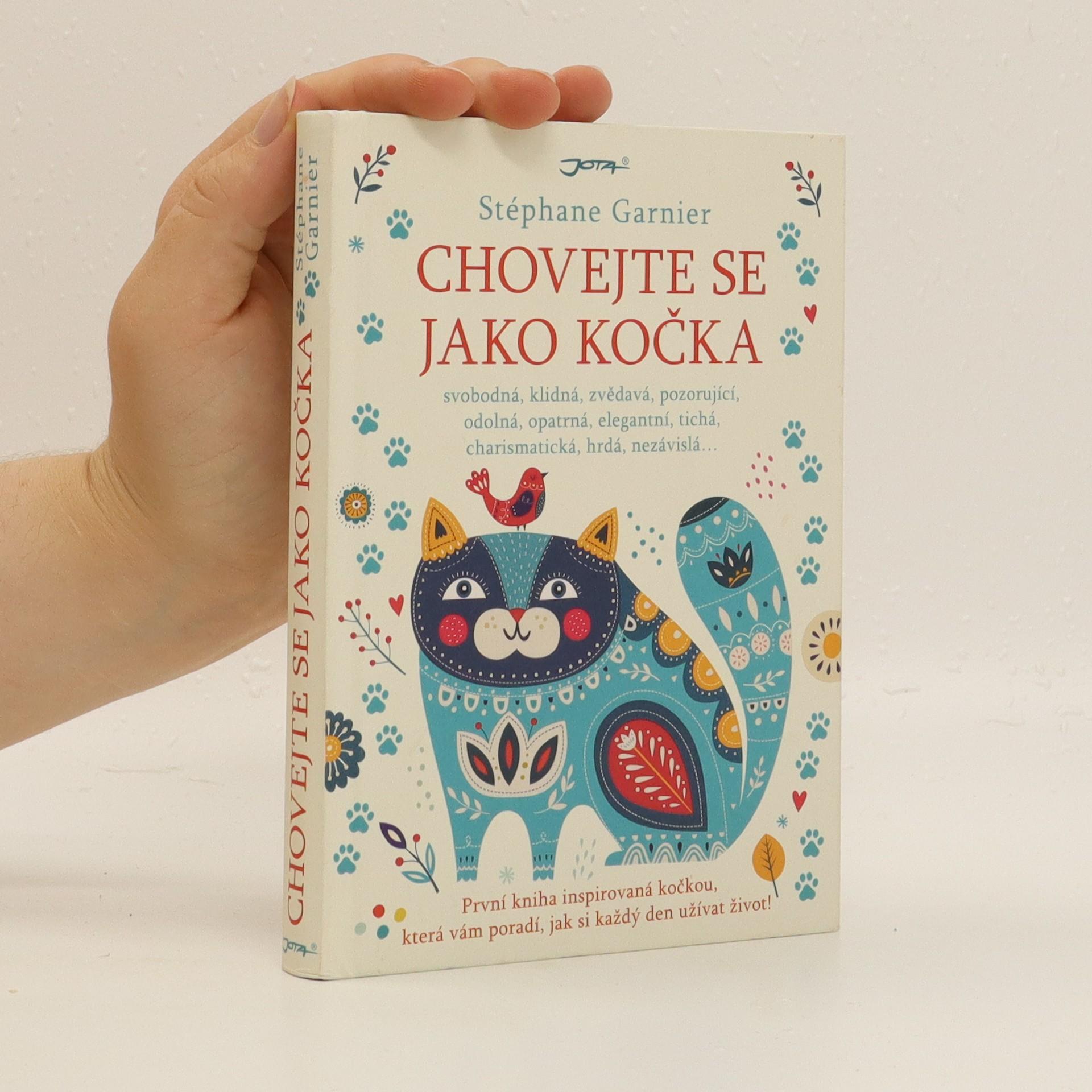 antikvární kniha Chovejte se jako kočka, 2018