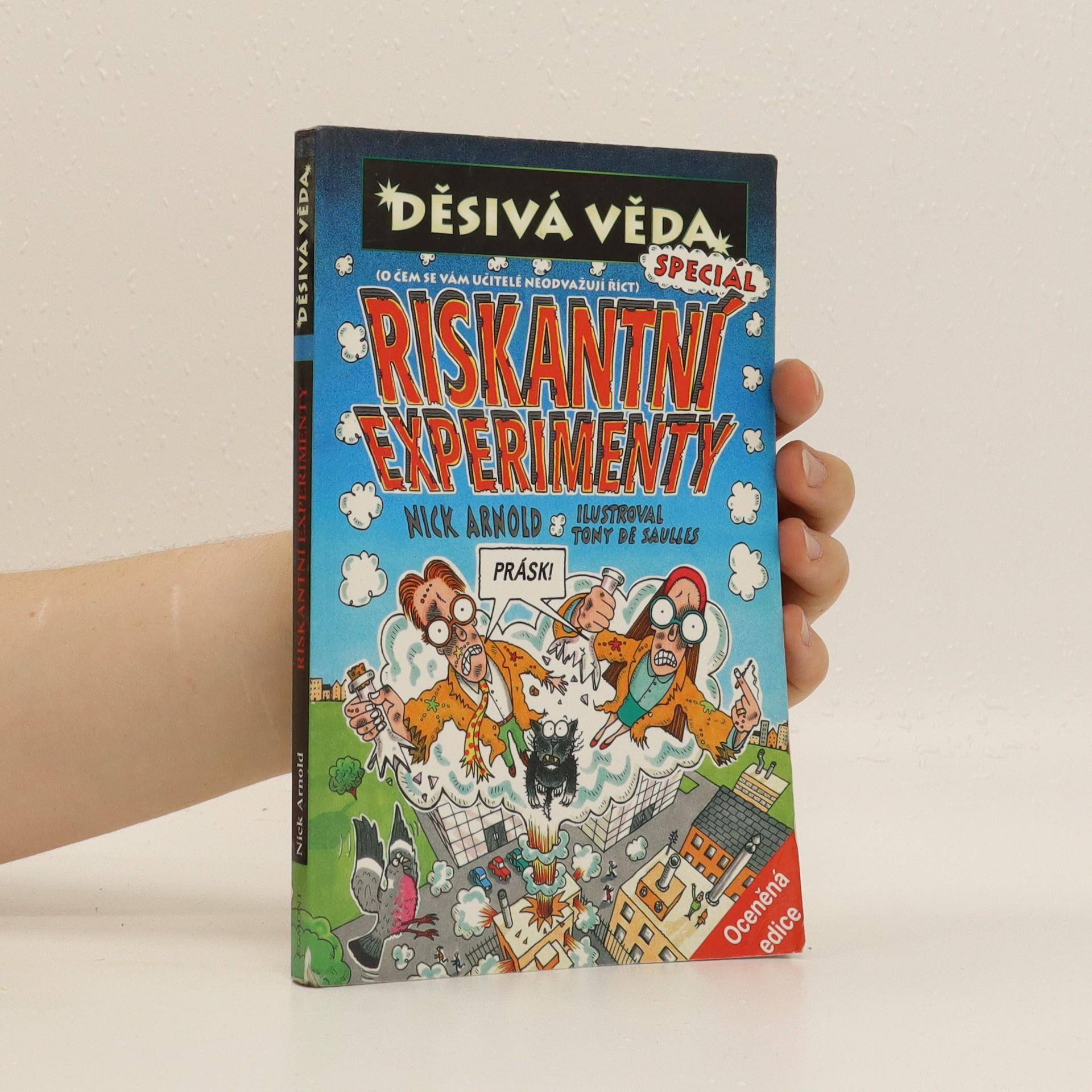 antikvární kniha Riskantní experimenty, neuveden