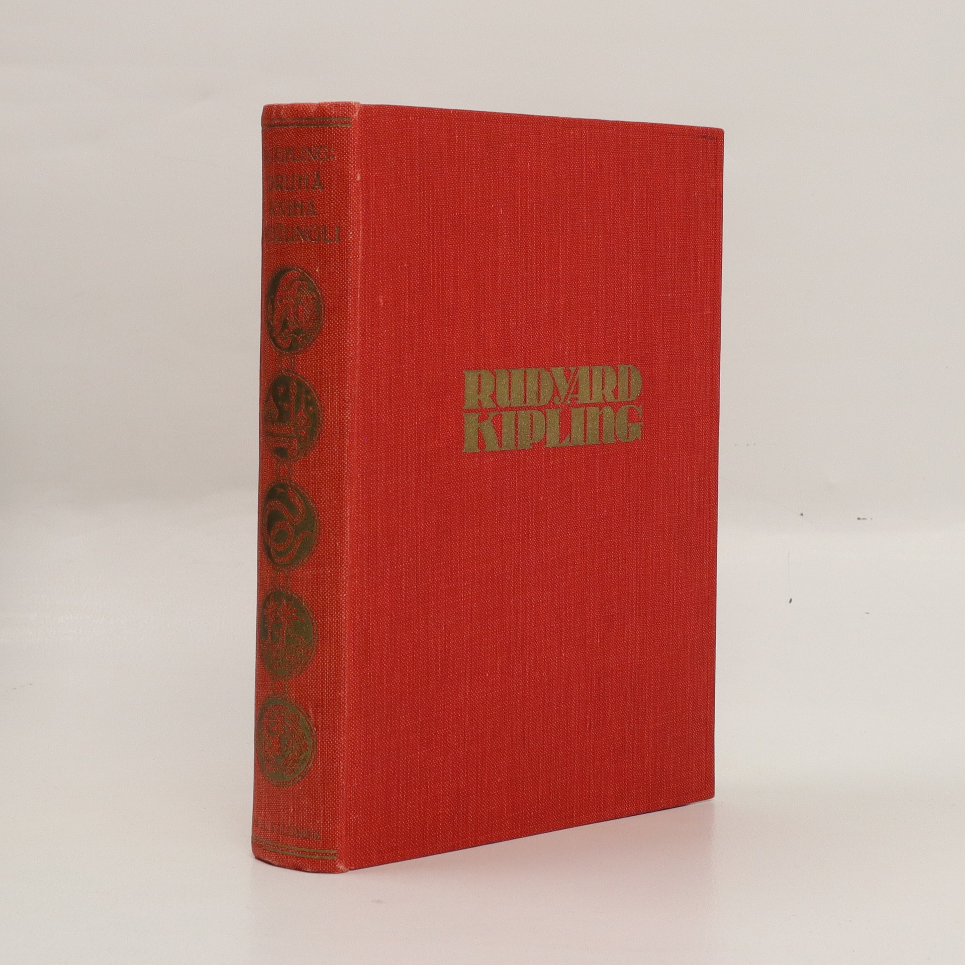 antikvární kniha Druhá kniha o džungli, 1928