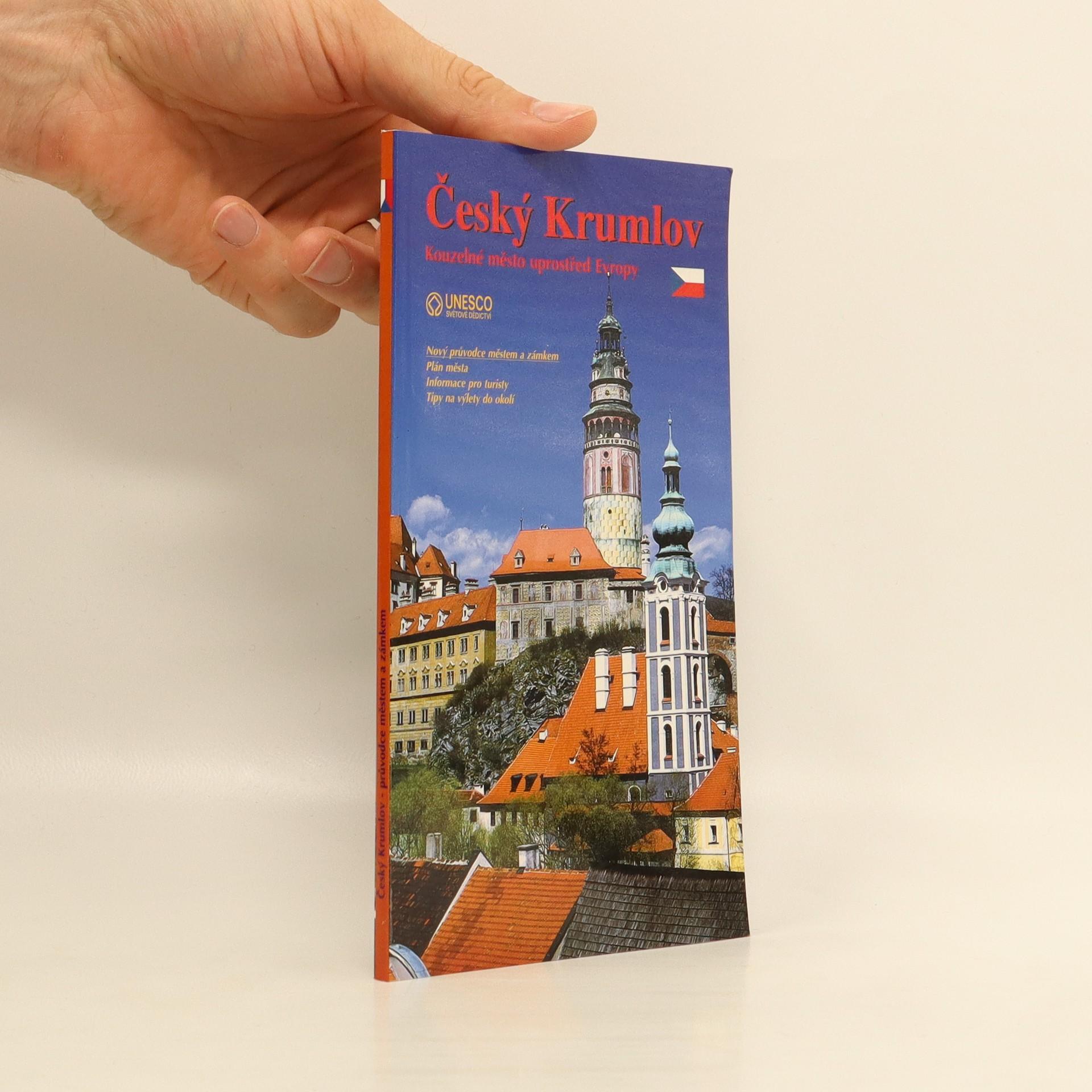 antikvární kniha Český Krumlov, 2001