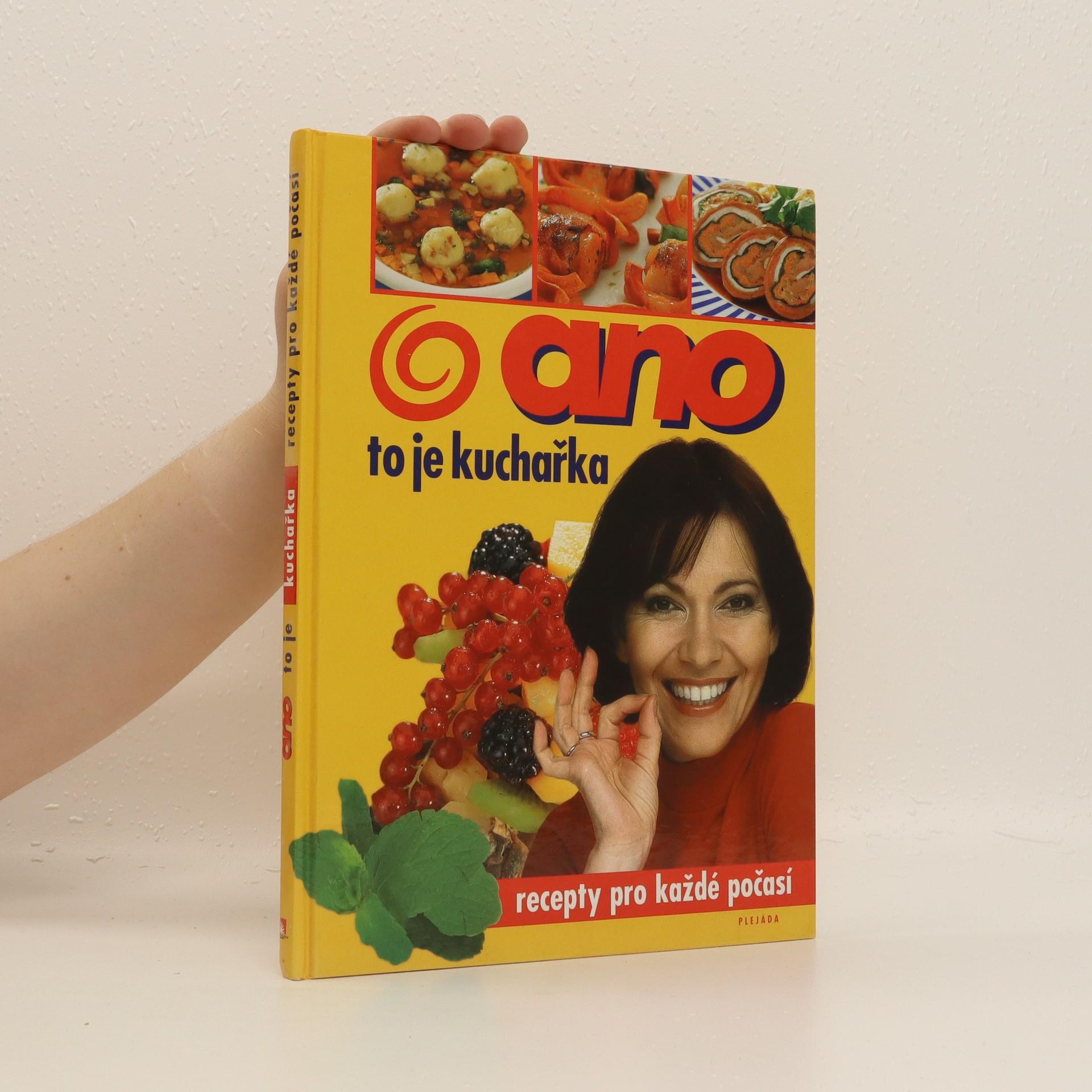 antikvární kniha Ano, to je kuchařka, 2002