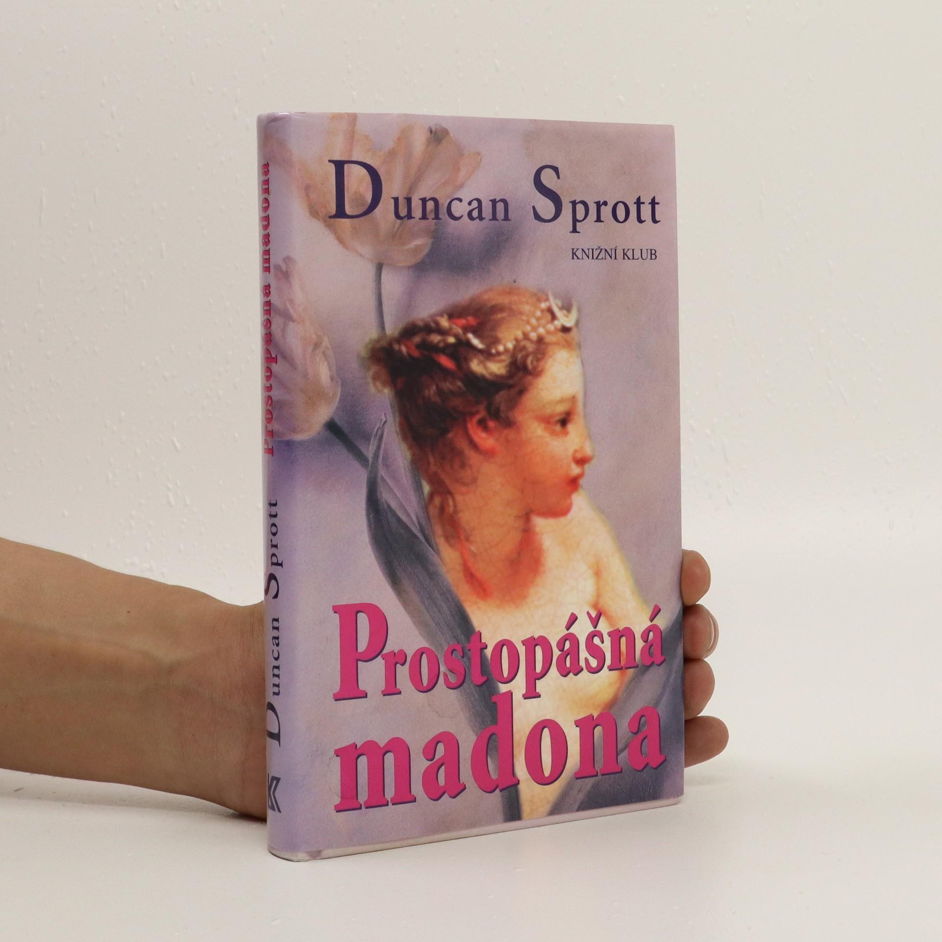 antikvární kniha Prostopášná madona, 2001