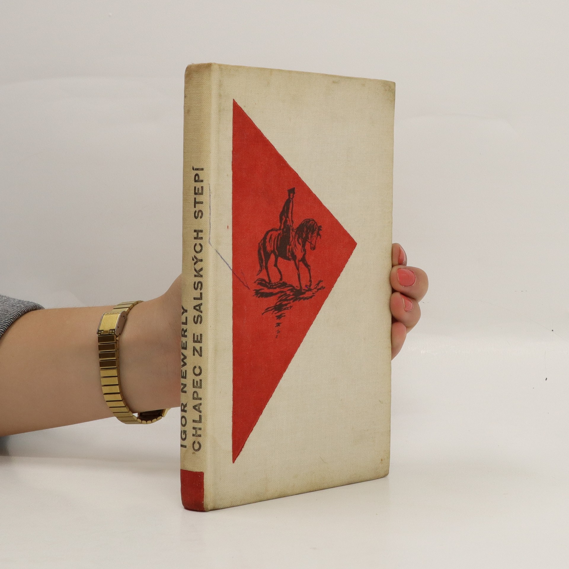 antikvární kniha Chlapec ze Salských stepí, 1963