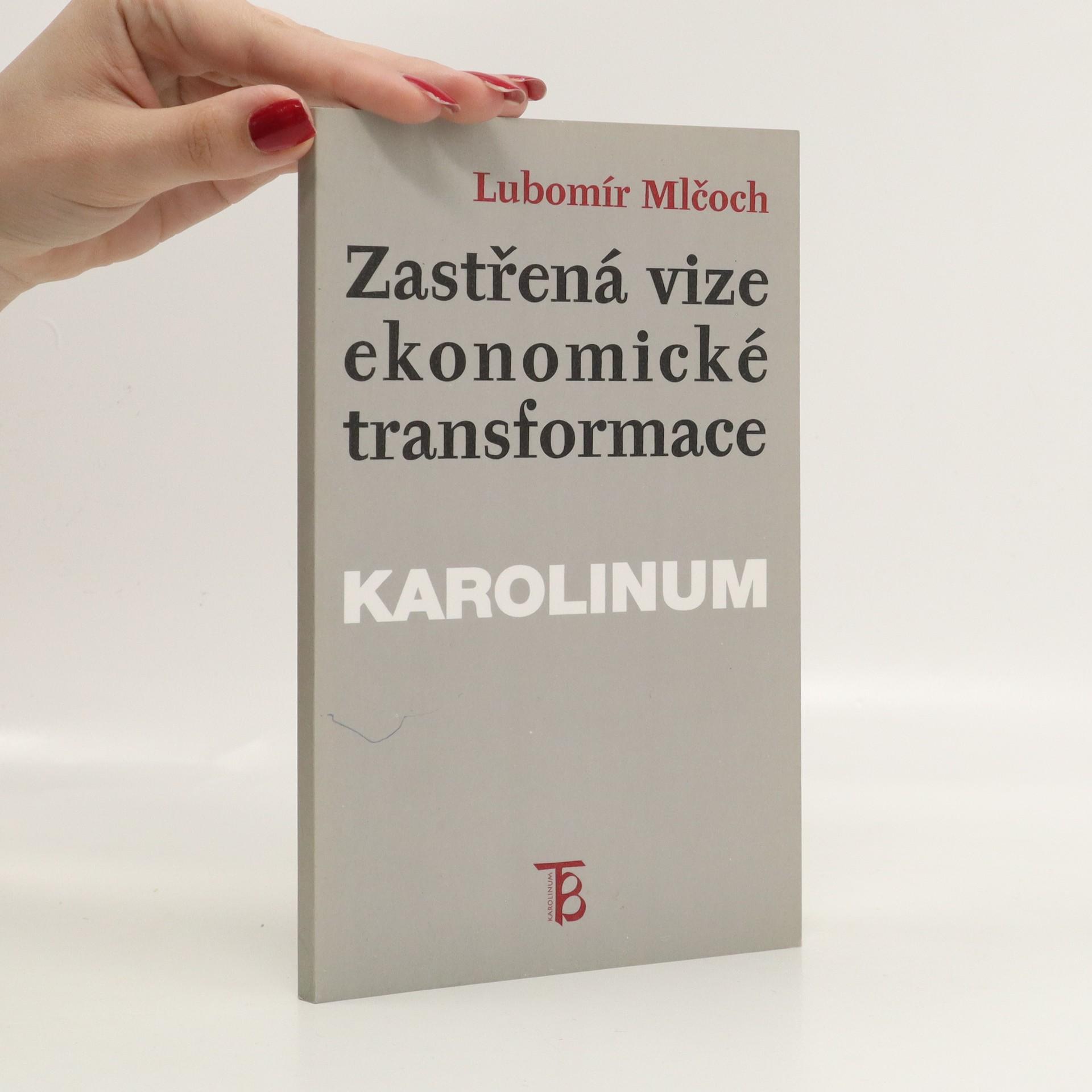 antikvární kniha Zastřená vize ekonomické transformace : česká ekonomika mezi minulostí a budoucností : (institucionální pohled), 1997
