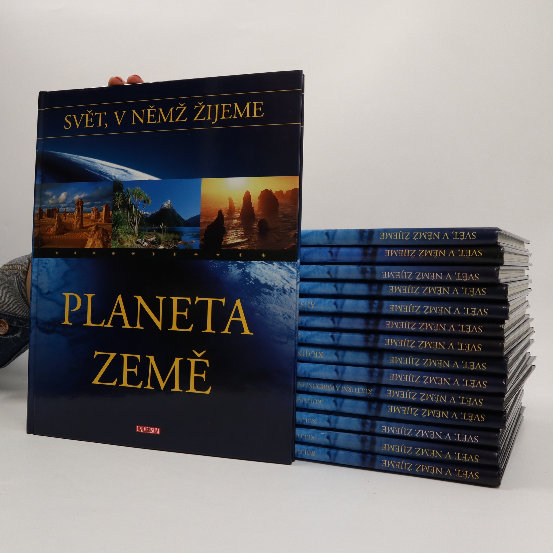 antikvární kniha Svět, v němž žijeme (15 svazků), 2004 - 2005