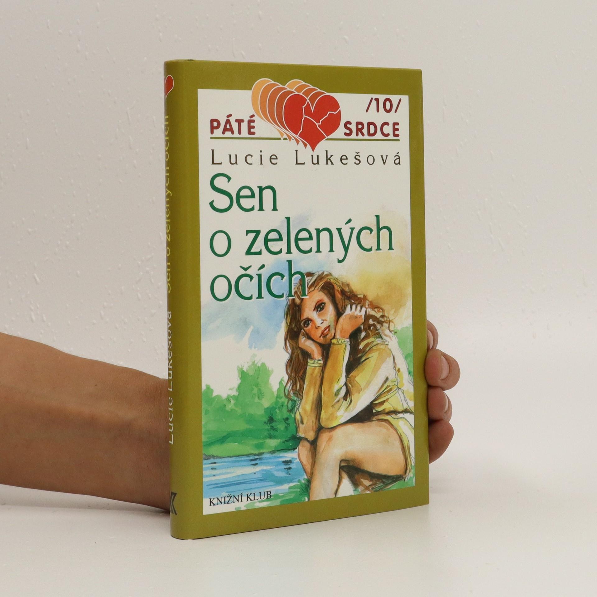 antikvární kniha Sen o zelených očích, 2001