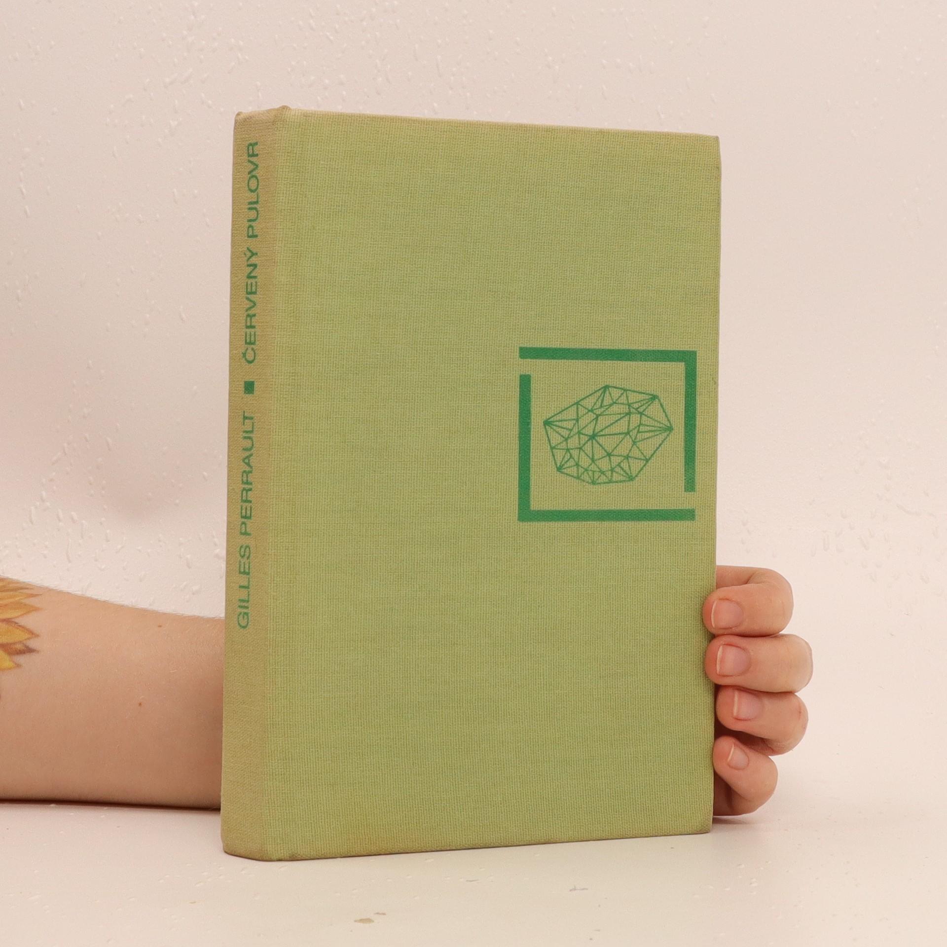 antikvární kniha Červený pulover, 1988
