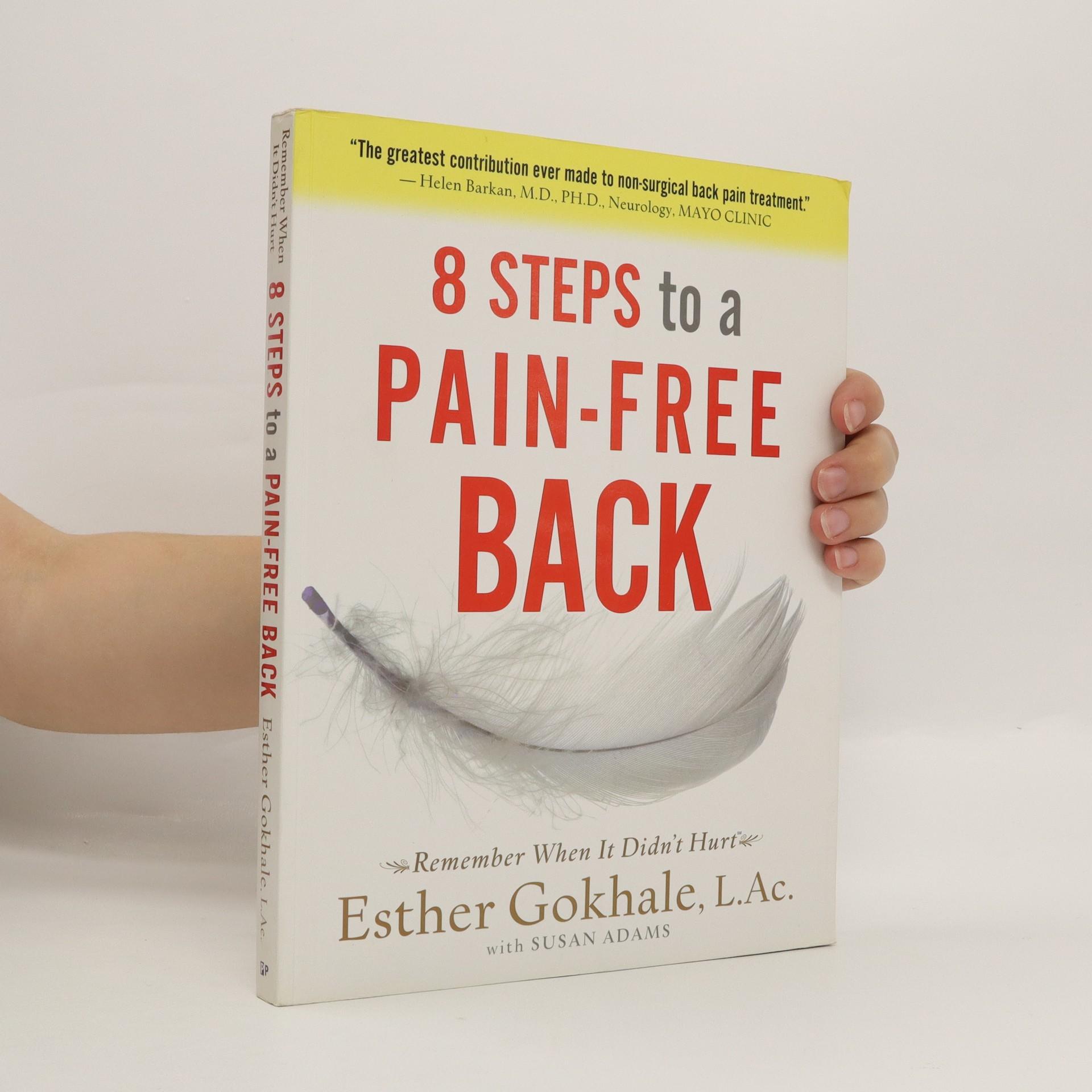 antikvární kniha 8 Steps to a Pain-free Back, 2008