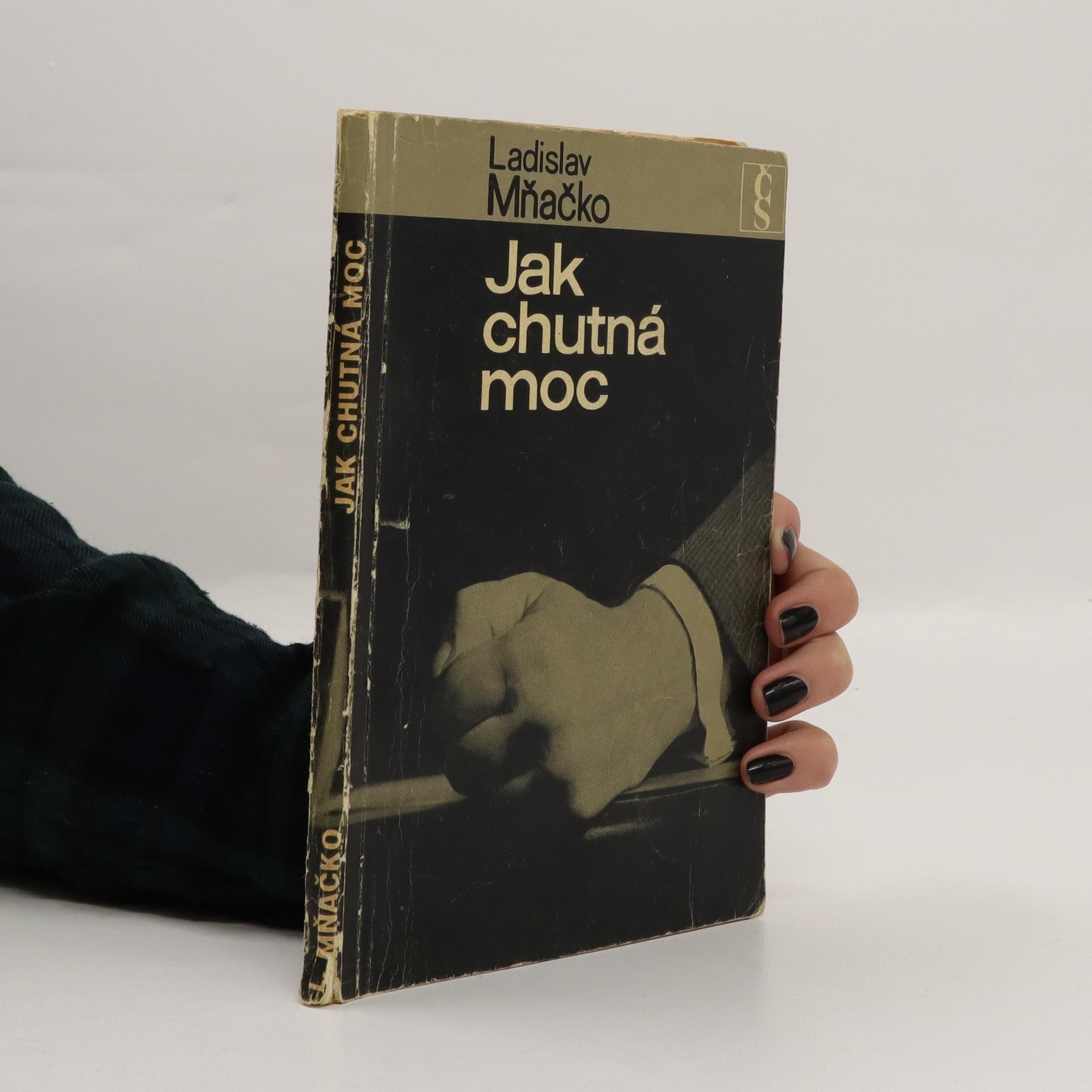antikvární kniha Jak chutná moc, 1968