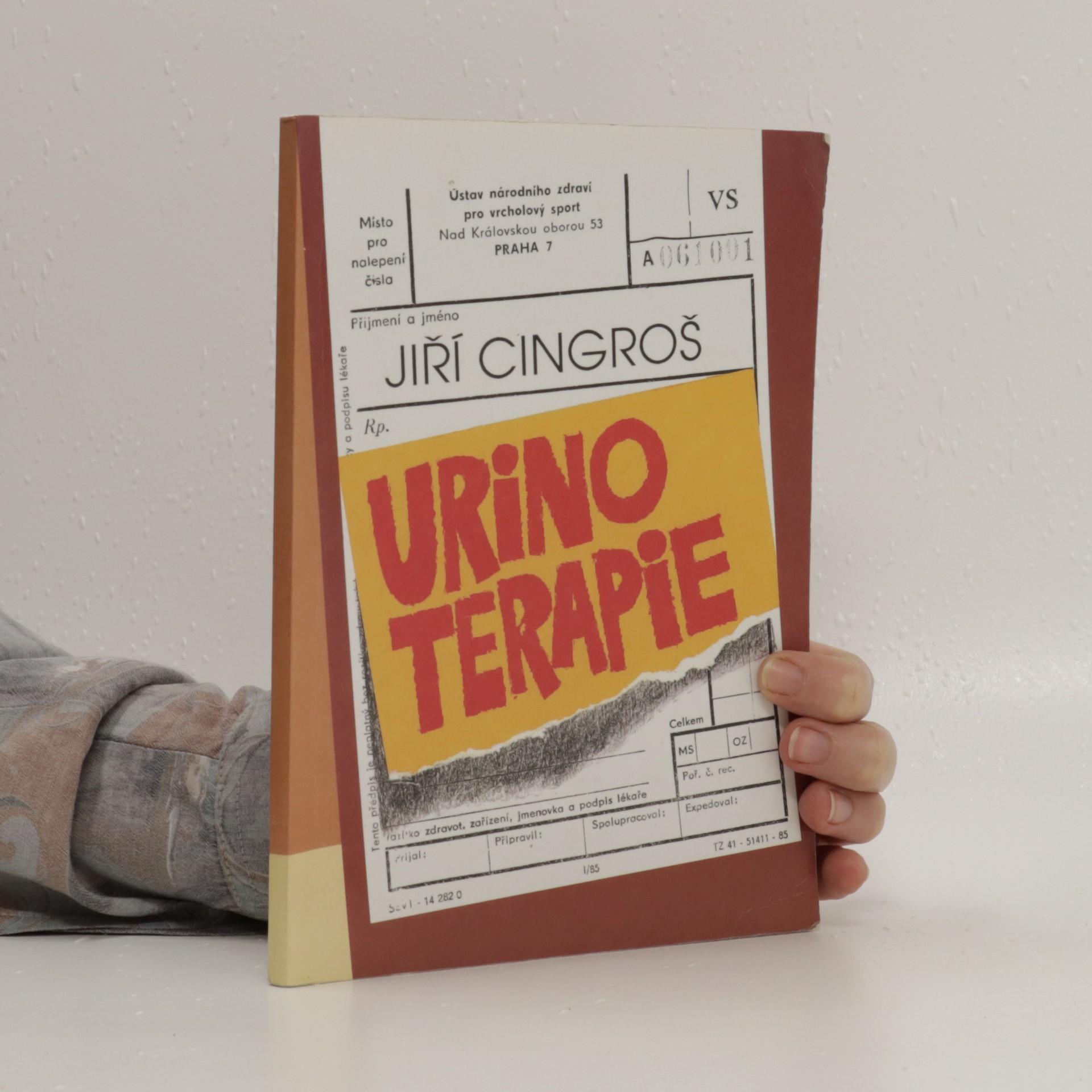 antikvární kniha Urinoterapie, 1996