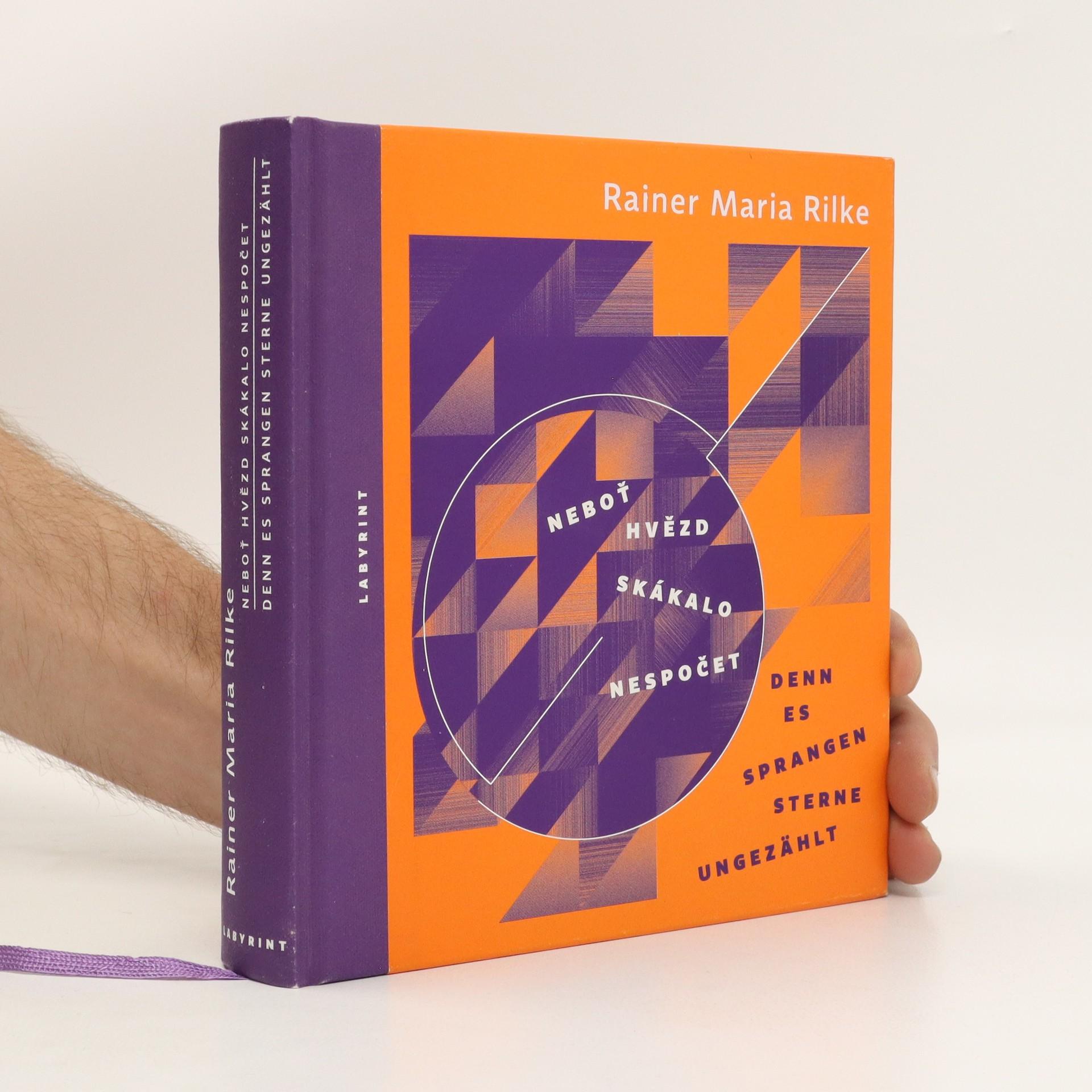 antikvární kniha Neboť hvězd skákalo nespočet = Denn es sprangen Sterne ungezählt : básně 1922-1926, 2013