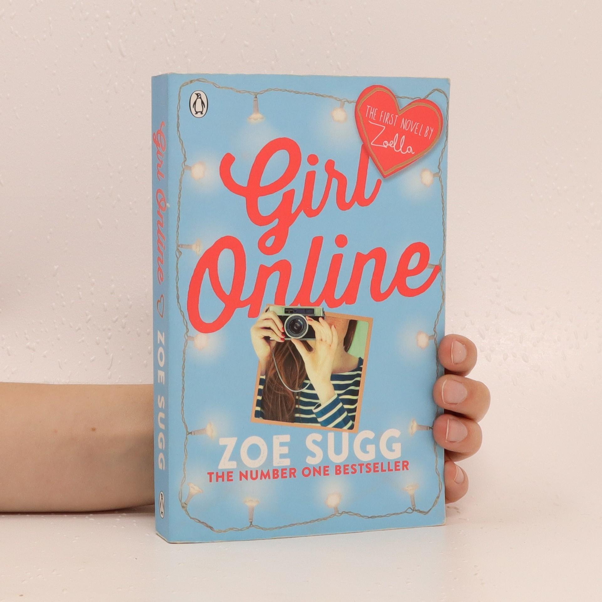 antikvární kniha Girl online, 2014