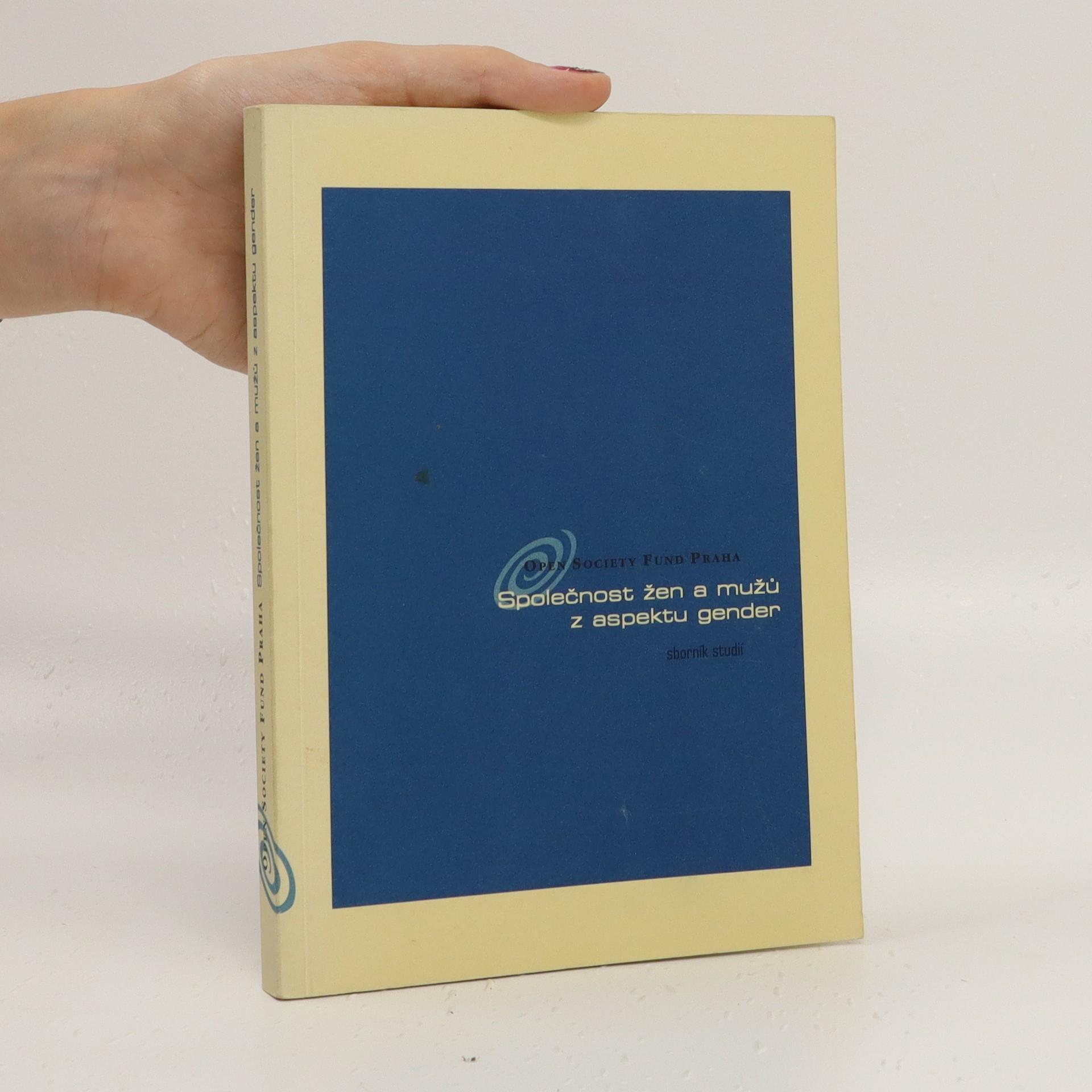 antikvární kniha Společnost žen a mužů z aspektu gender, 1999