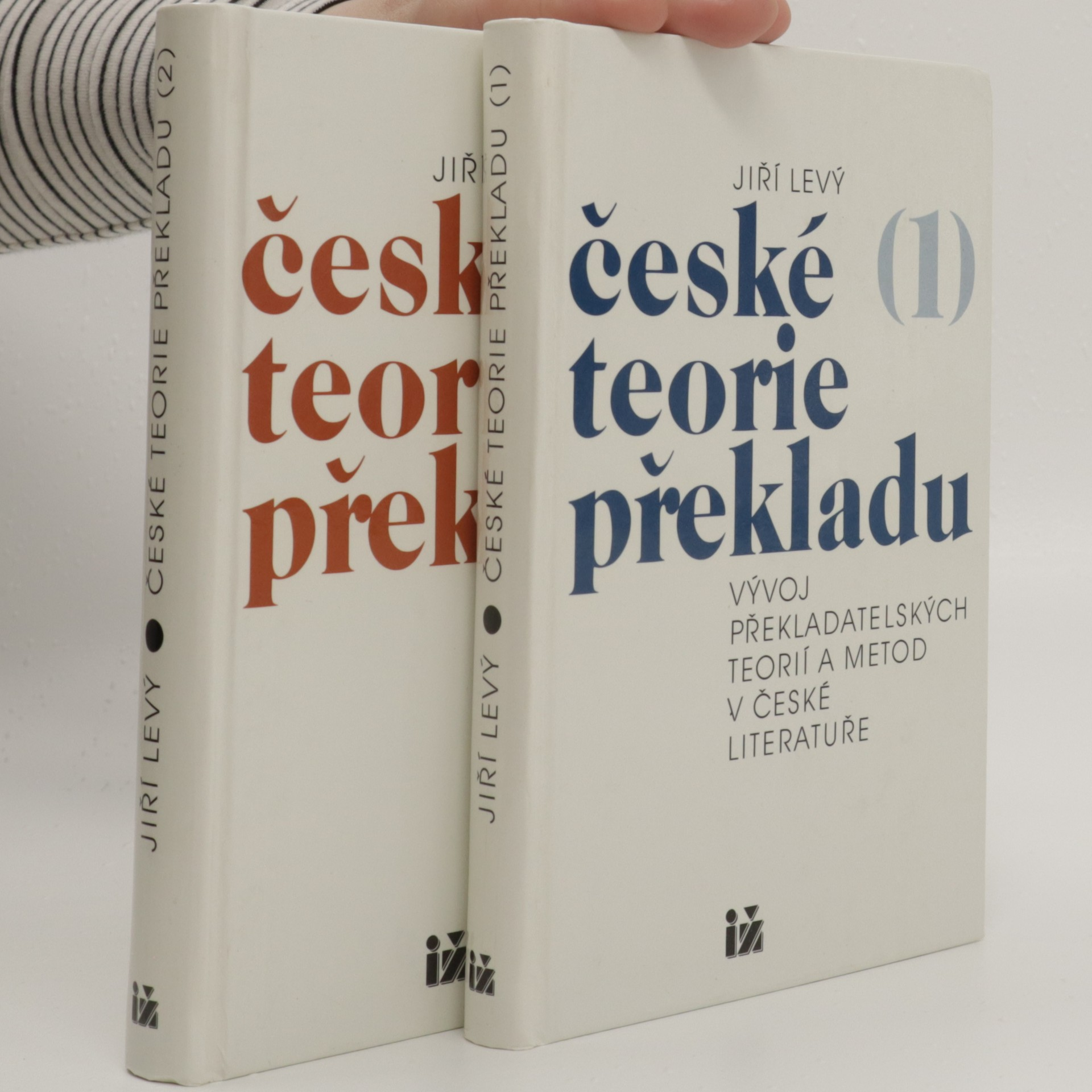 antikvární kniha České teorie překladu : vývoj překladatelských teorií a metod v české literatuře. 1. a 2. díl (2 svazky), 1996