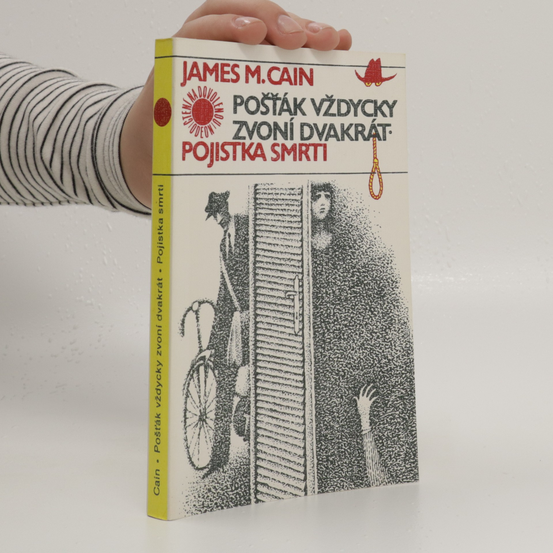 antikvární kniha Pošťák vždycky zvoní dvakrát / Pojistka smrti, 1987